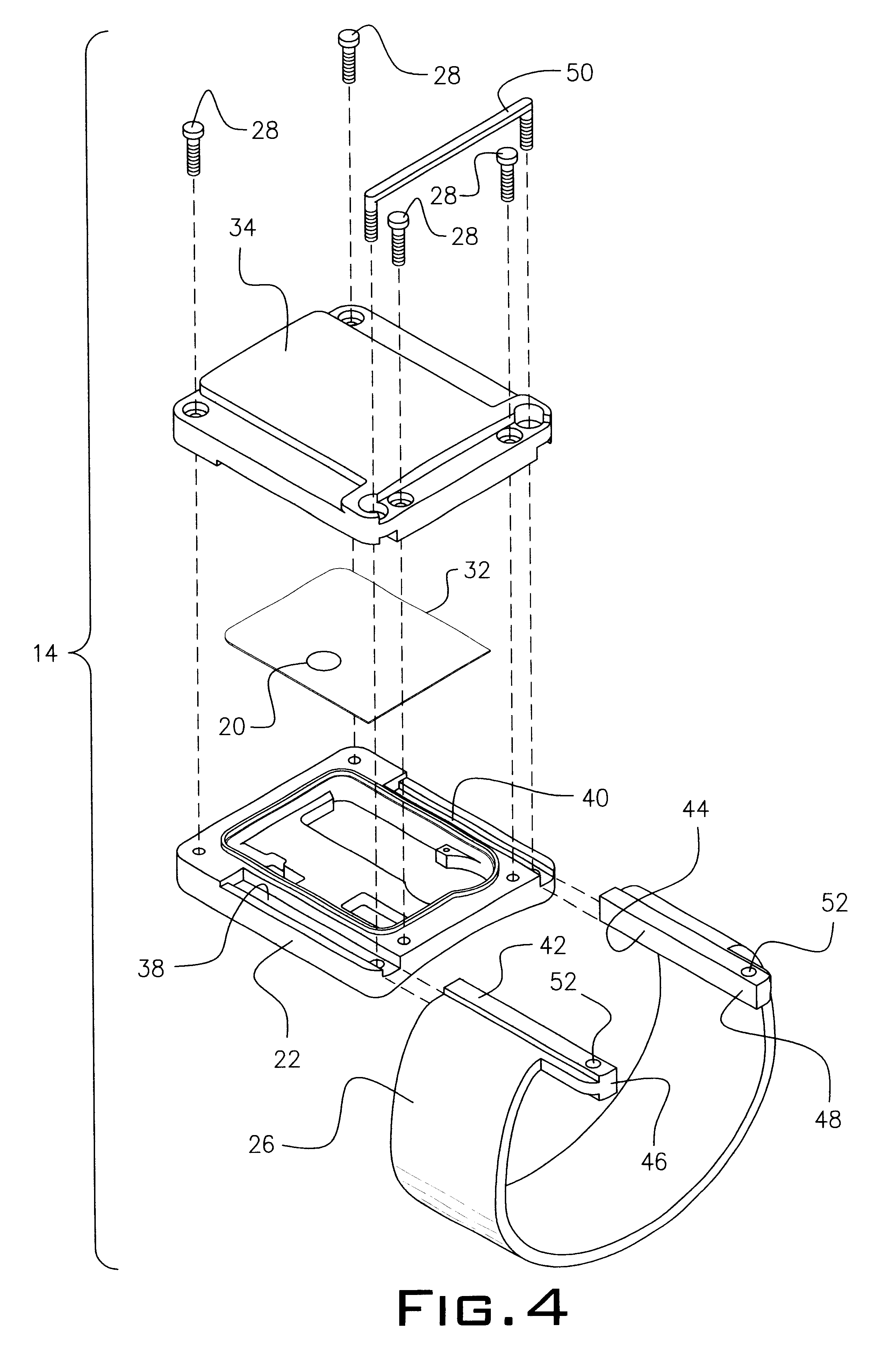 patent us6774799 - house arrest tracker system
