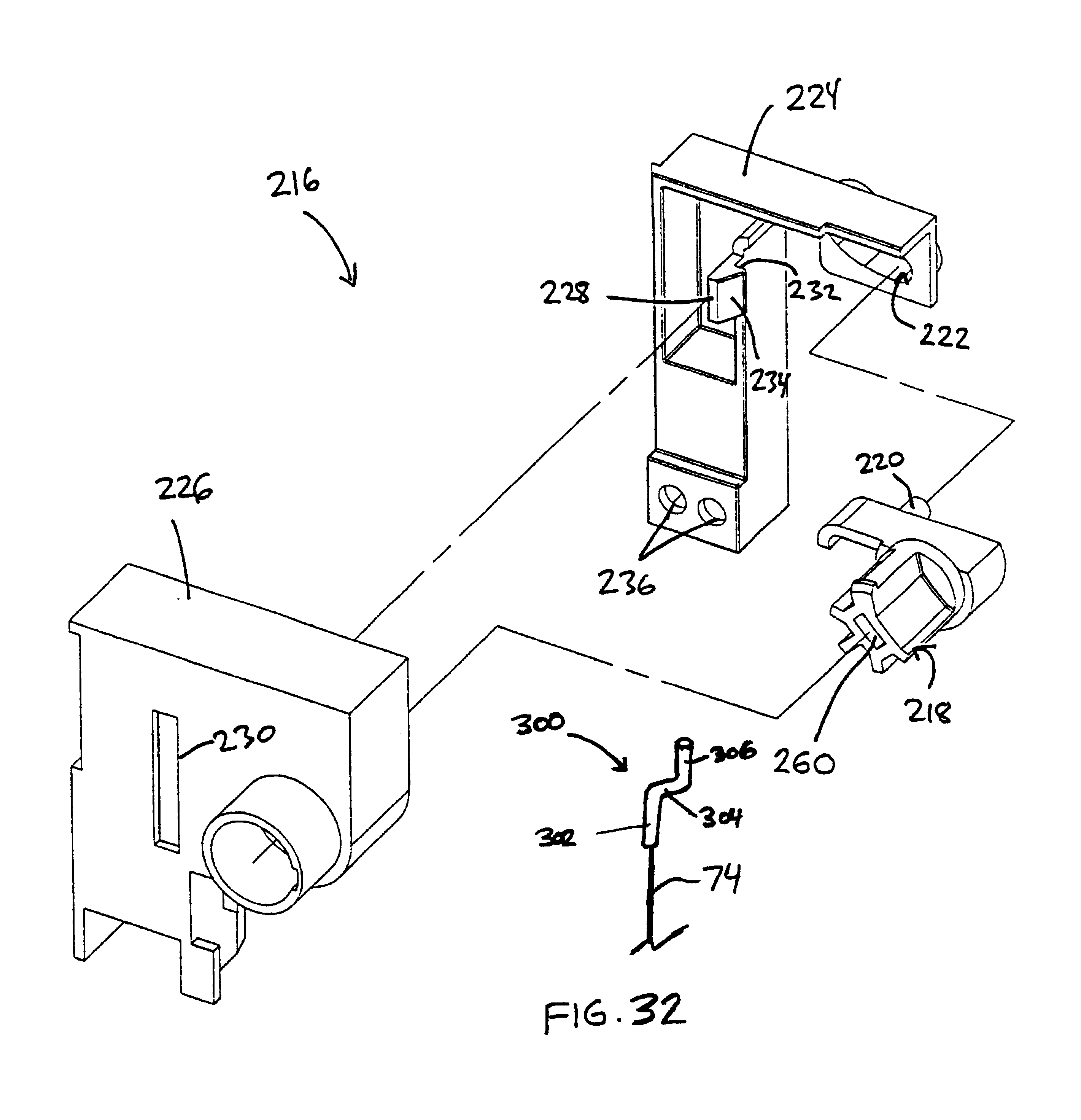 Patent US6779855 - Interlock mechanism for lateral file cabinets ...