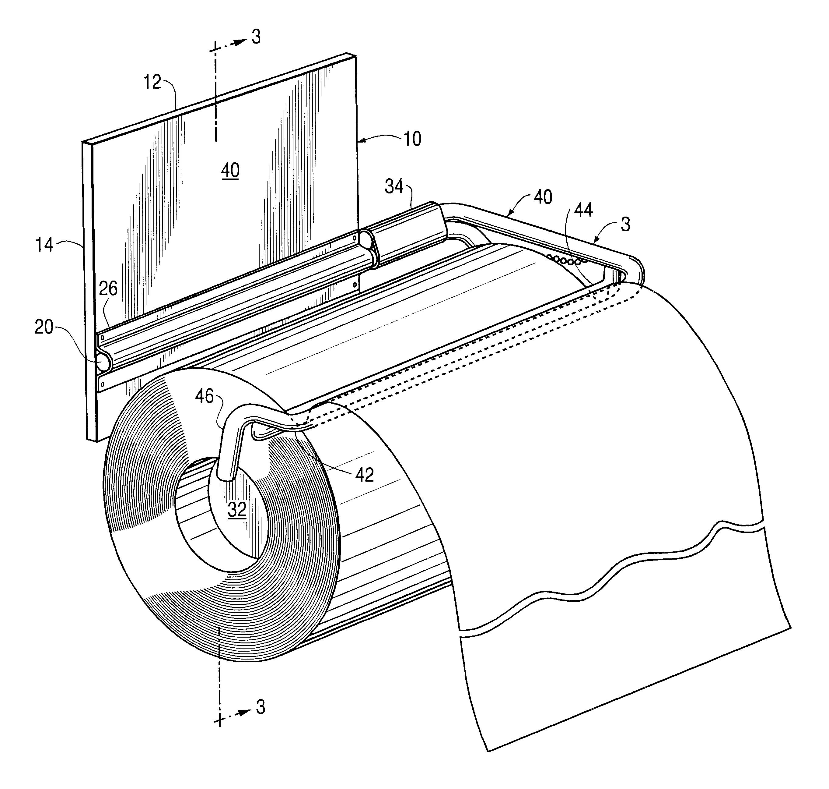 Bathroom Towel Dispenser Plans patent us6786377 - single hand, paper towel dispenser - google patents