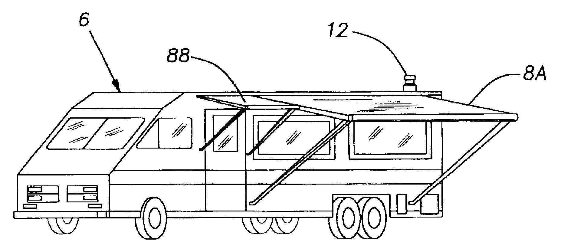 Patent Us6798158 Wind Sensing Awning Control Google