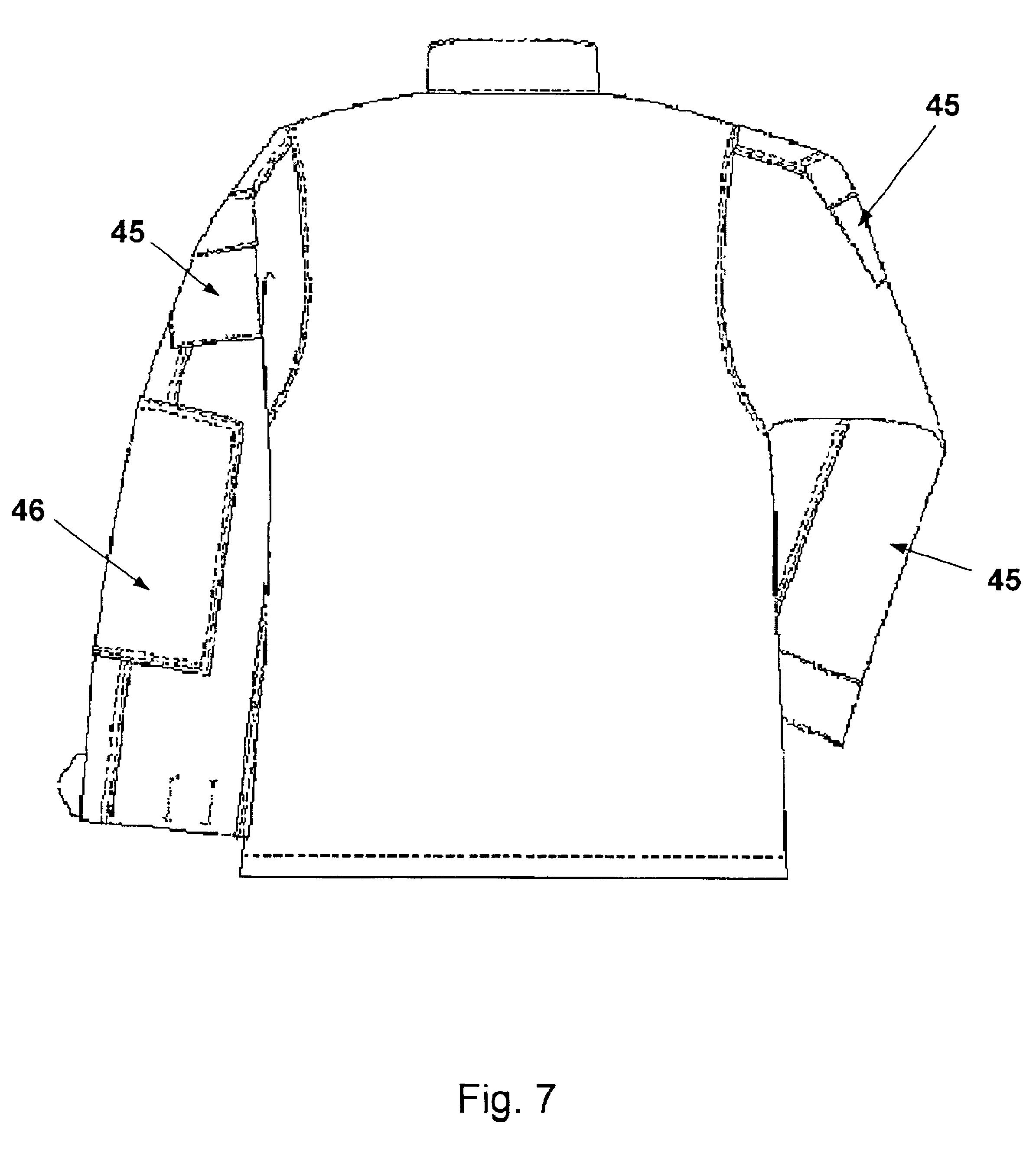patent us6805957 camouflage u s marine corps utility uniform