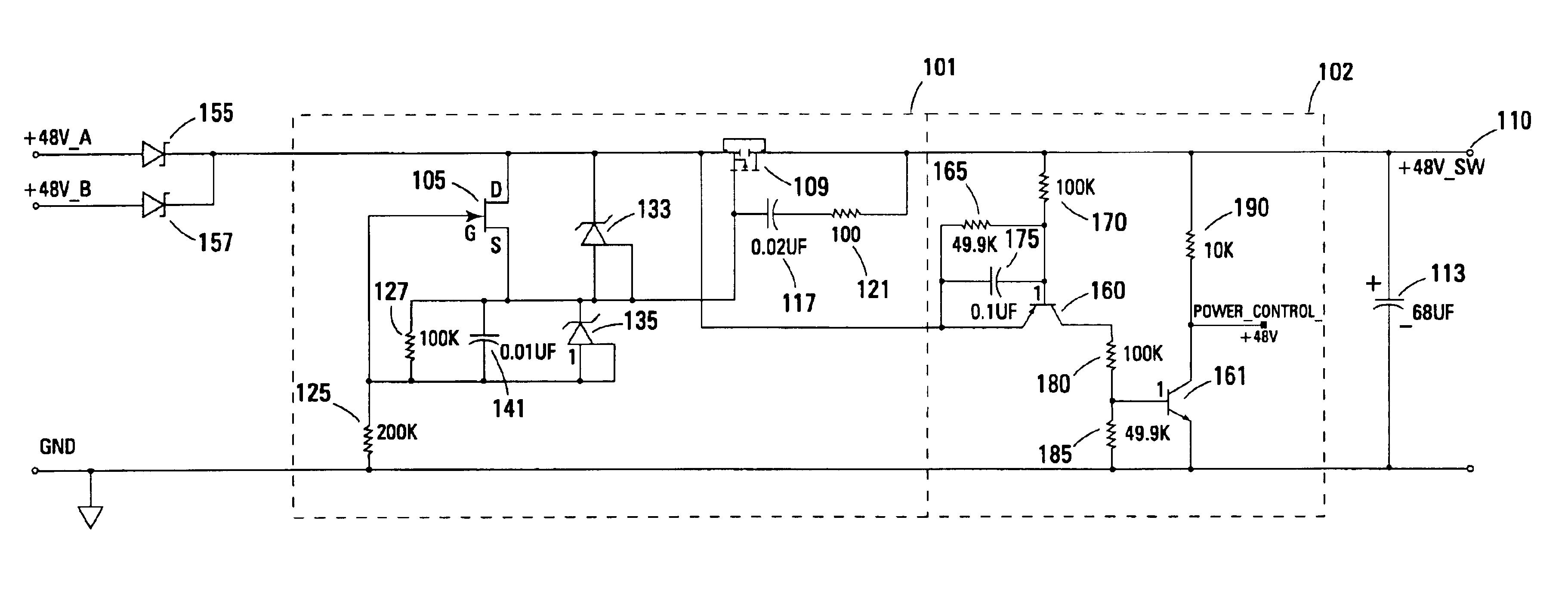 patent us6807039 - inrush limiter circuit