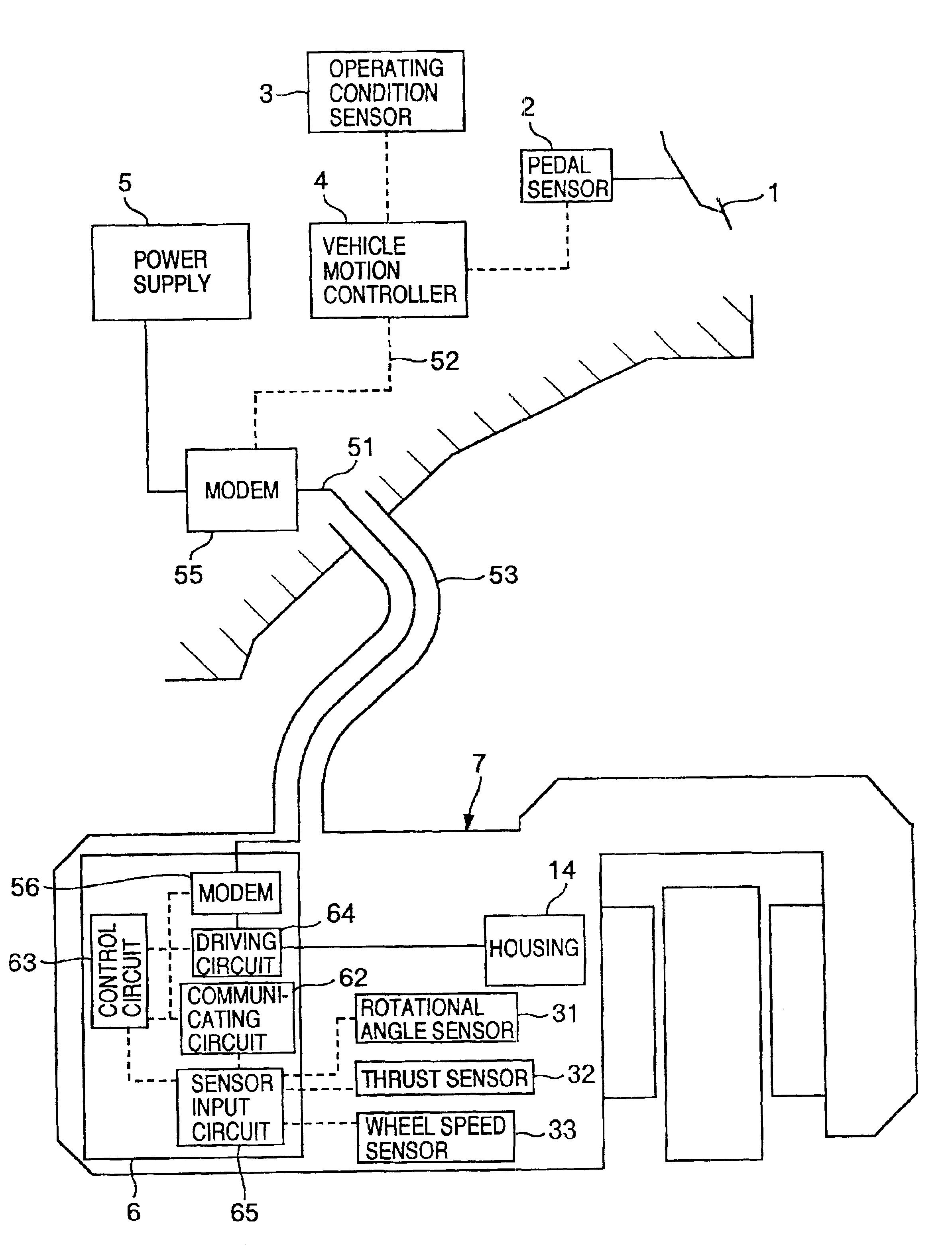 patent us6810316 brake device for vehicle patentsuche O2 Sensor Wiring patent drawing
