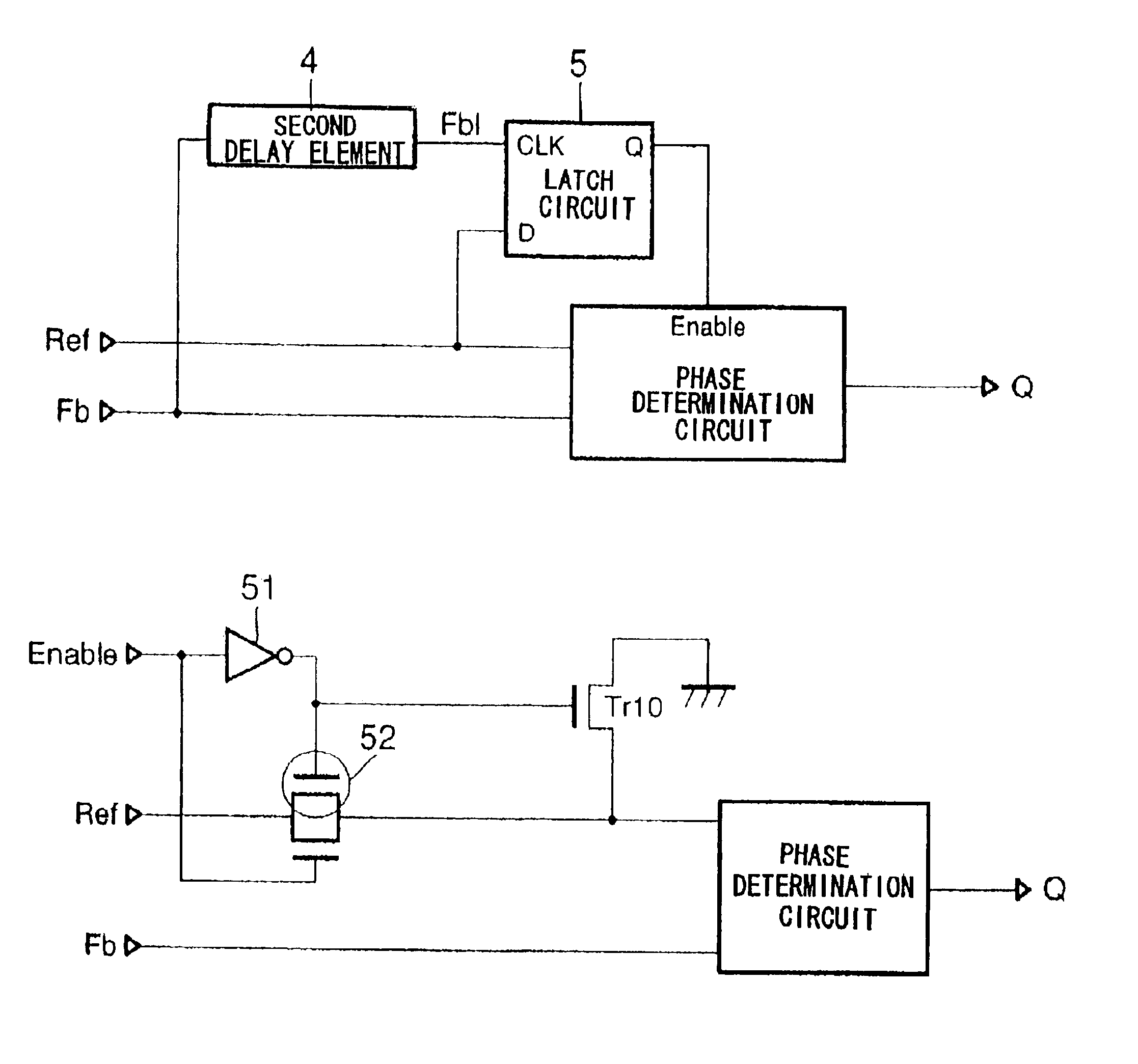 Patent Us6812759 Dll Circuit Capable Of Preventing Locking In An Latching Diagram Drawing