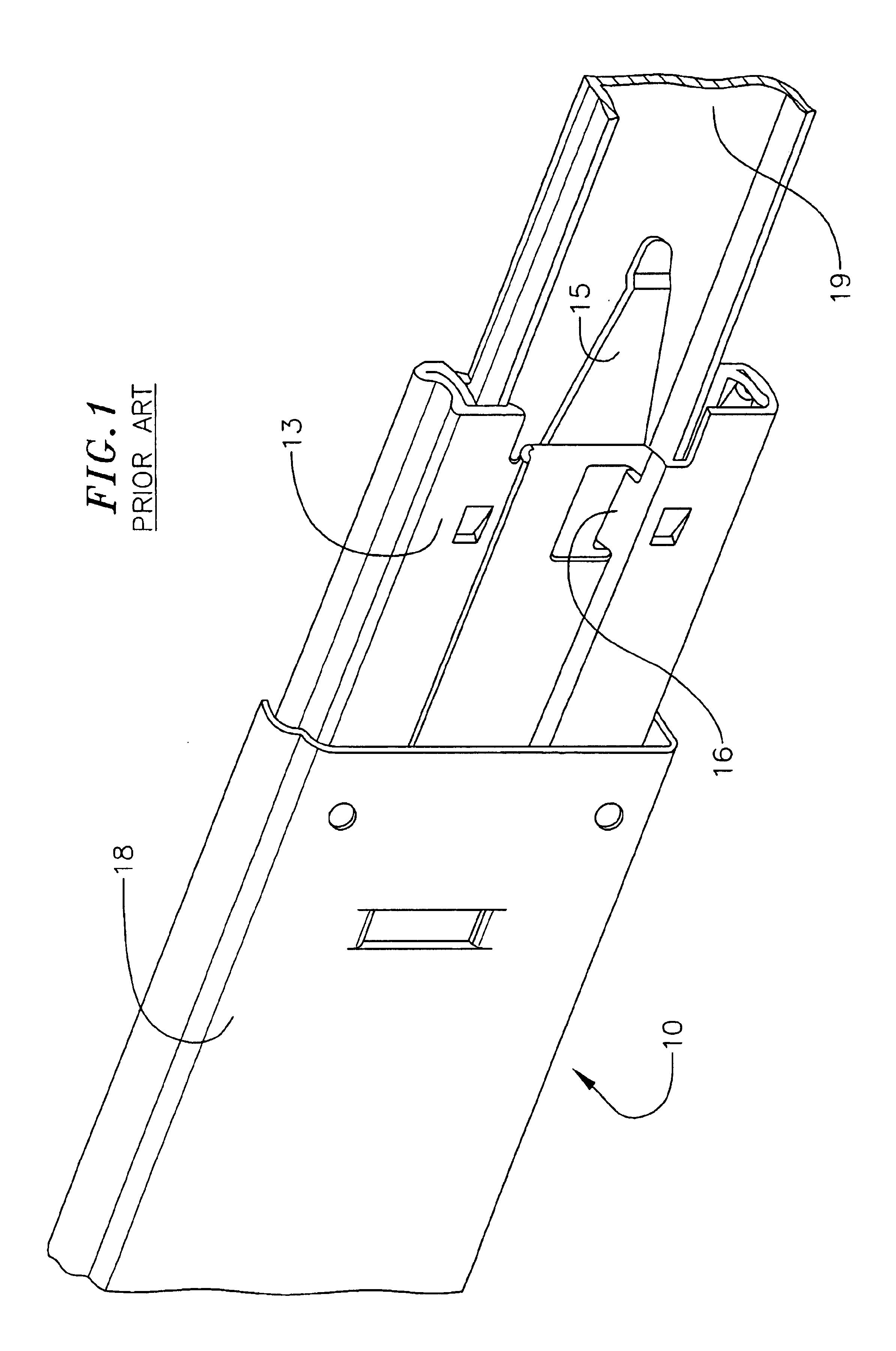 Patent Us6817685 Release Mechanism For Drawer Slide