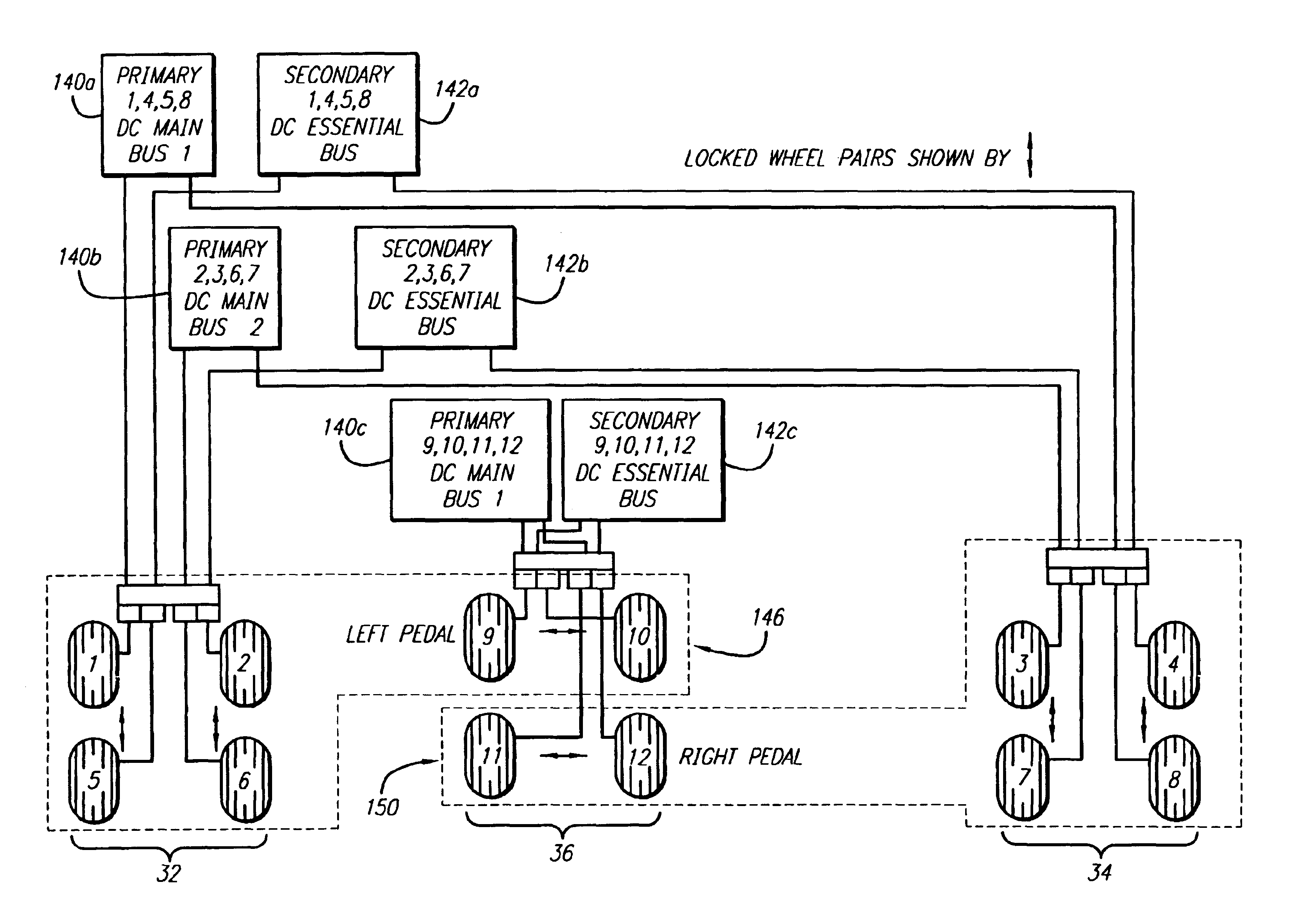 Patent US6820946 - Dual redundant active/active brake-by-wire ...