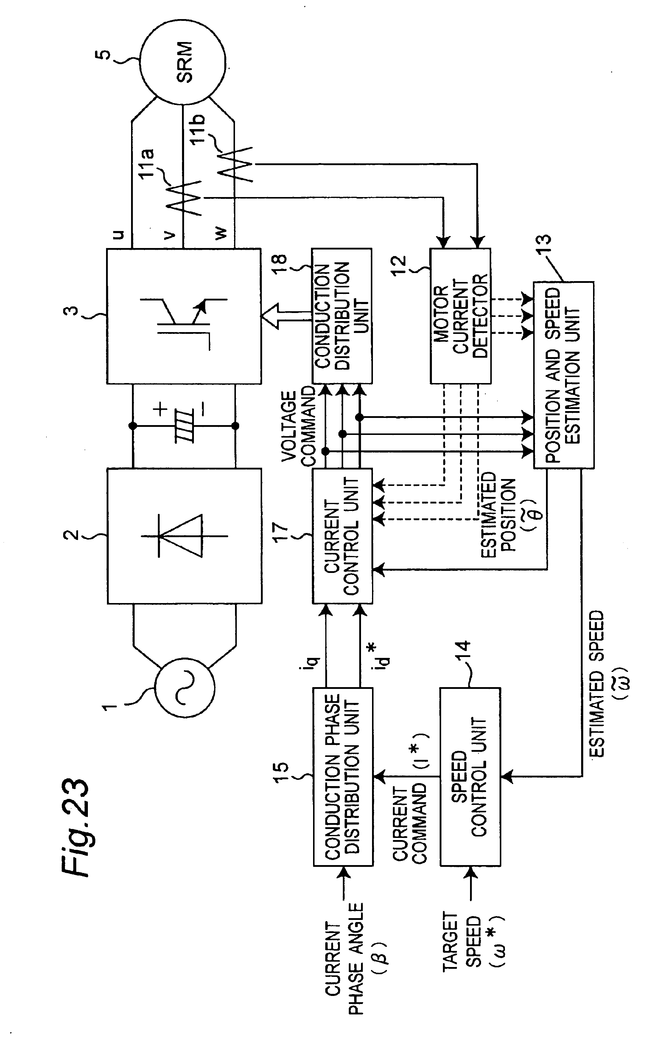 Patent Us6822417 Synchronous Reluctance Motor Control