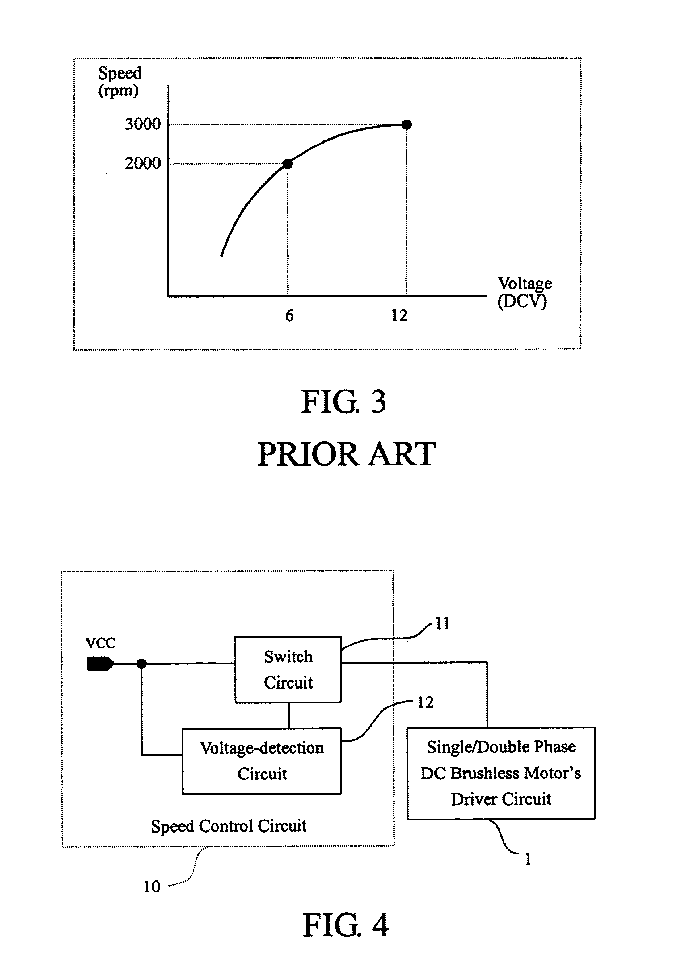 Patent Us6822419 Speed Control Circuit For A Dc Brushless Motor Speedcontrolcircuitjpg Drawing