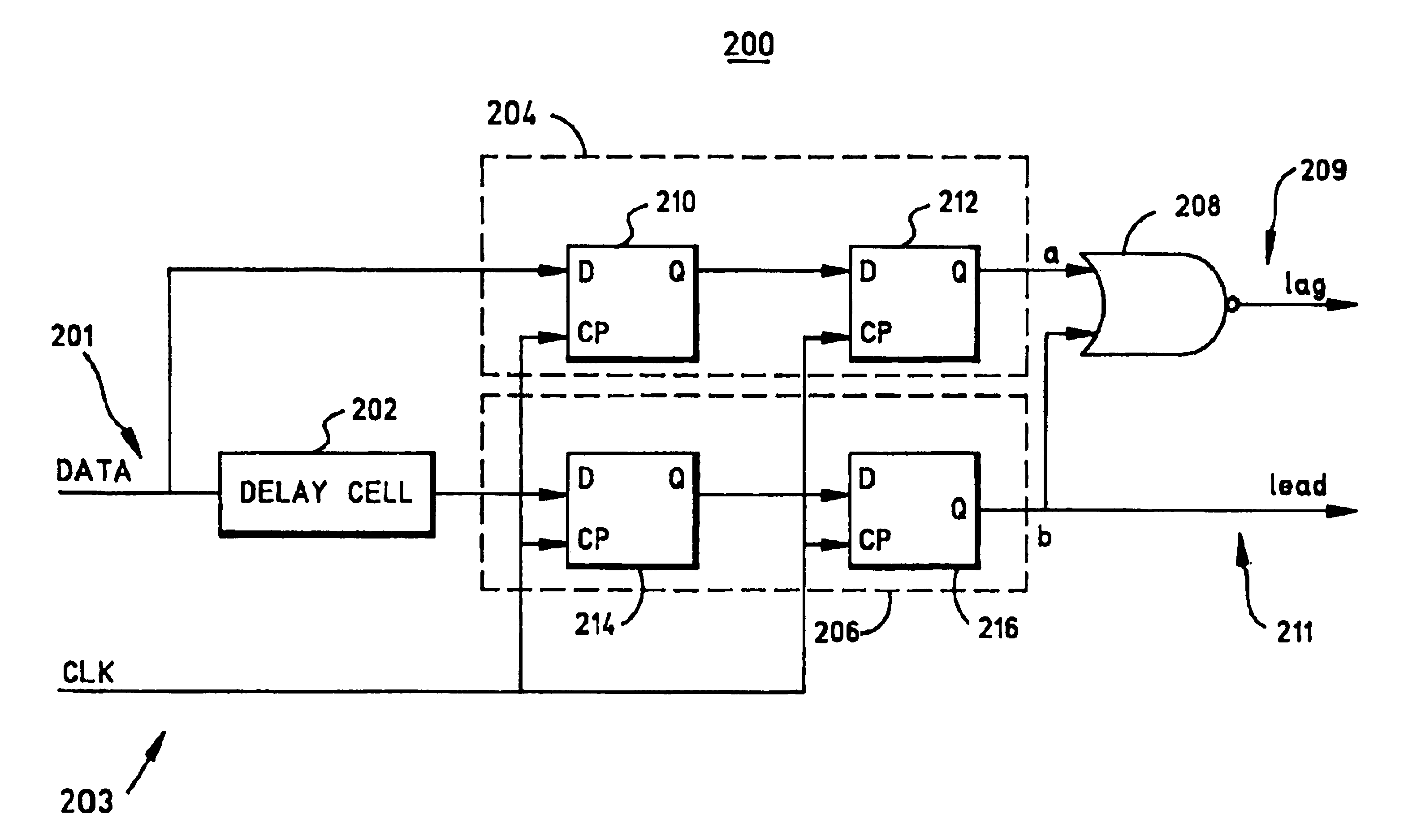 Nice Phase Detector Circuit Diagram Images Patent Us6822483 No Gain Amplifier Automotivecircuit Seekic Gallery Of