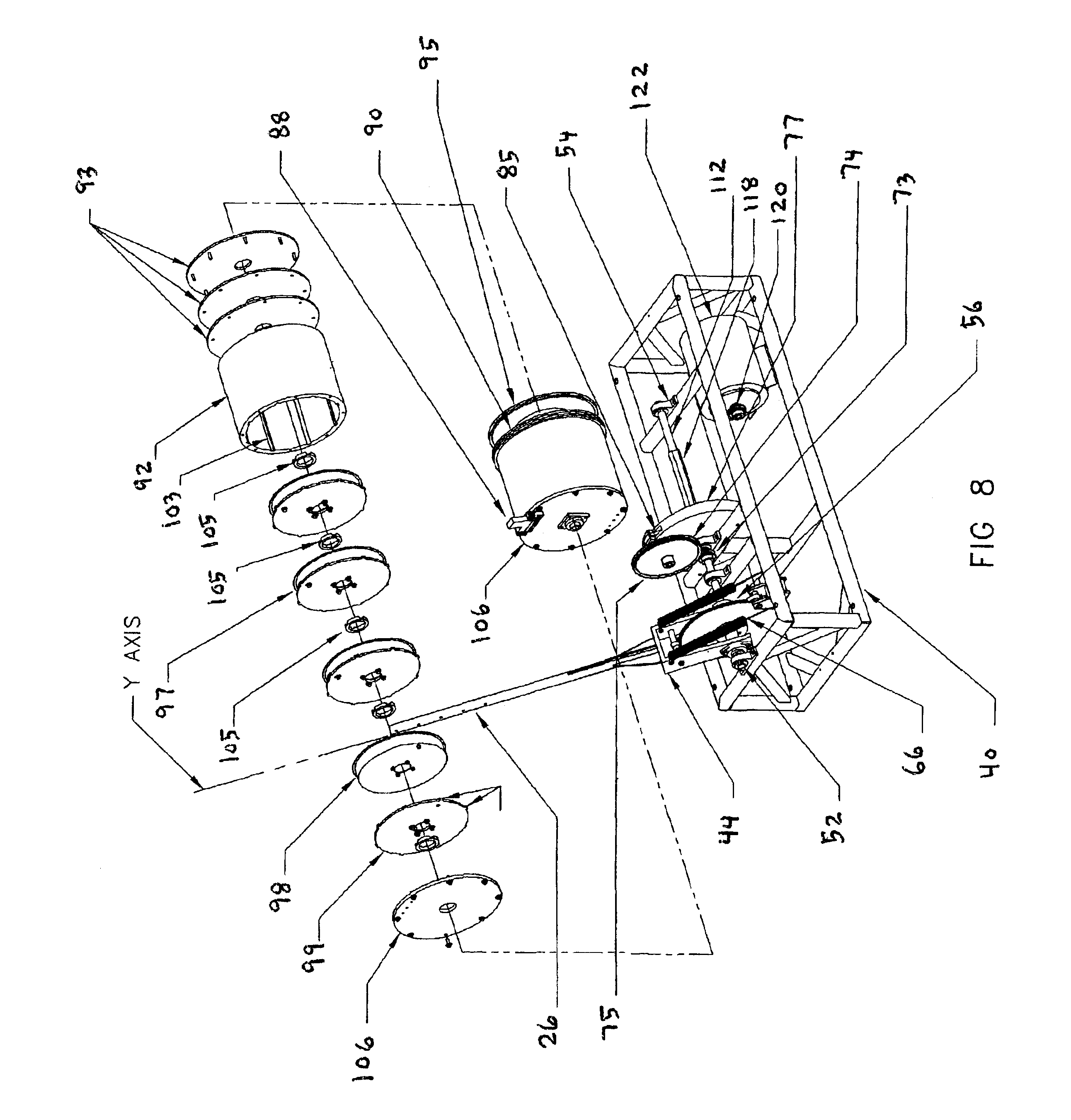 Patent Us6825574 Spring Motor Powered Electricity