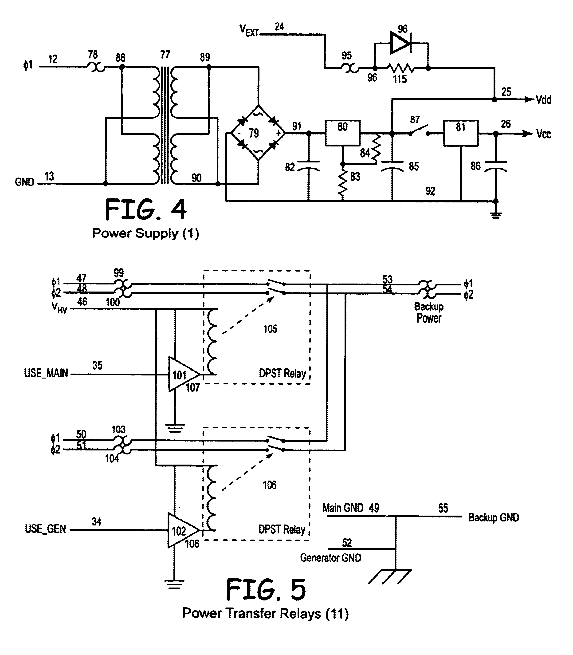US06825578 20041130 D00003 patent us6825578 state machine controlled automatic transfer generator automatic transfer switch wiring diagram at crackthecode.co