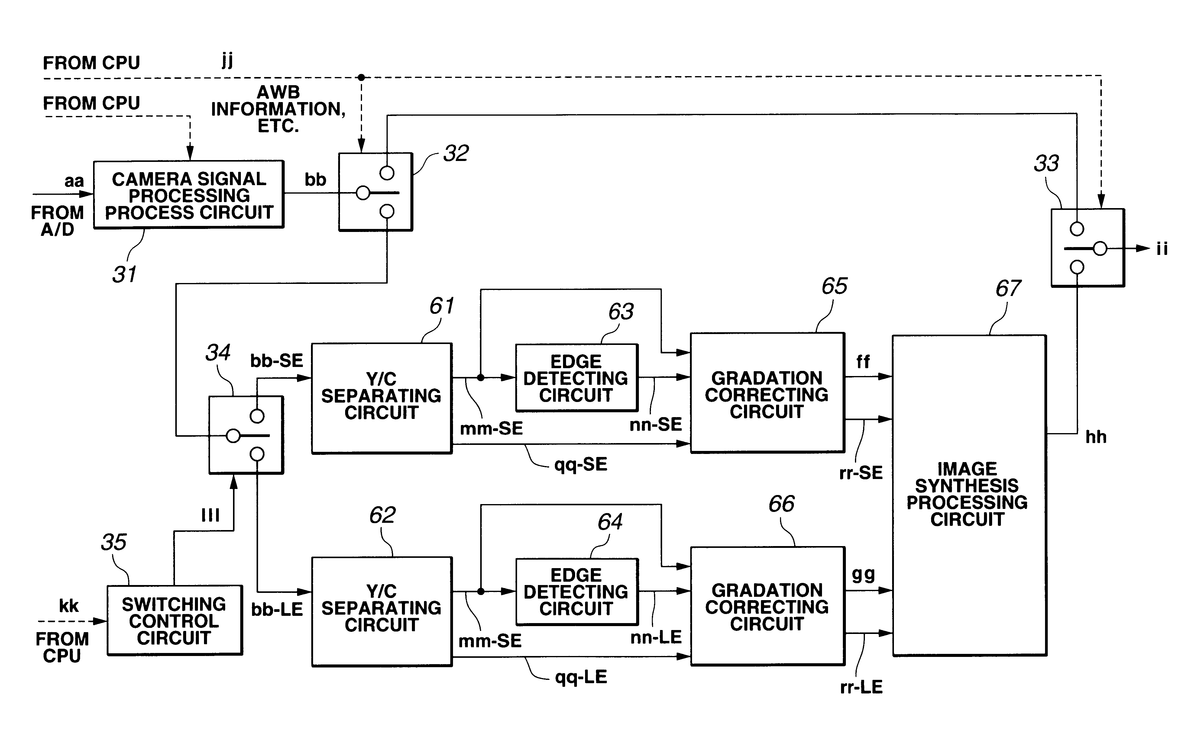 patent us6825884 imaging processing apparatus for generating a wide dynamic range image