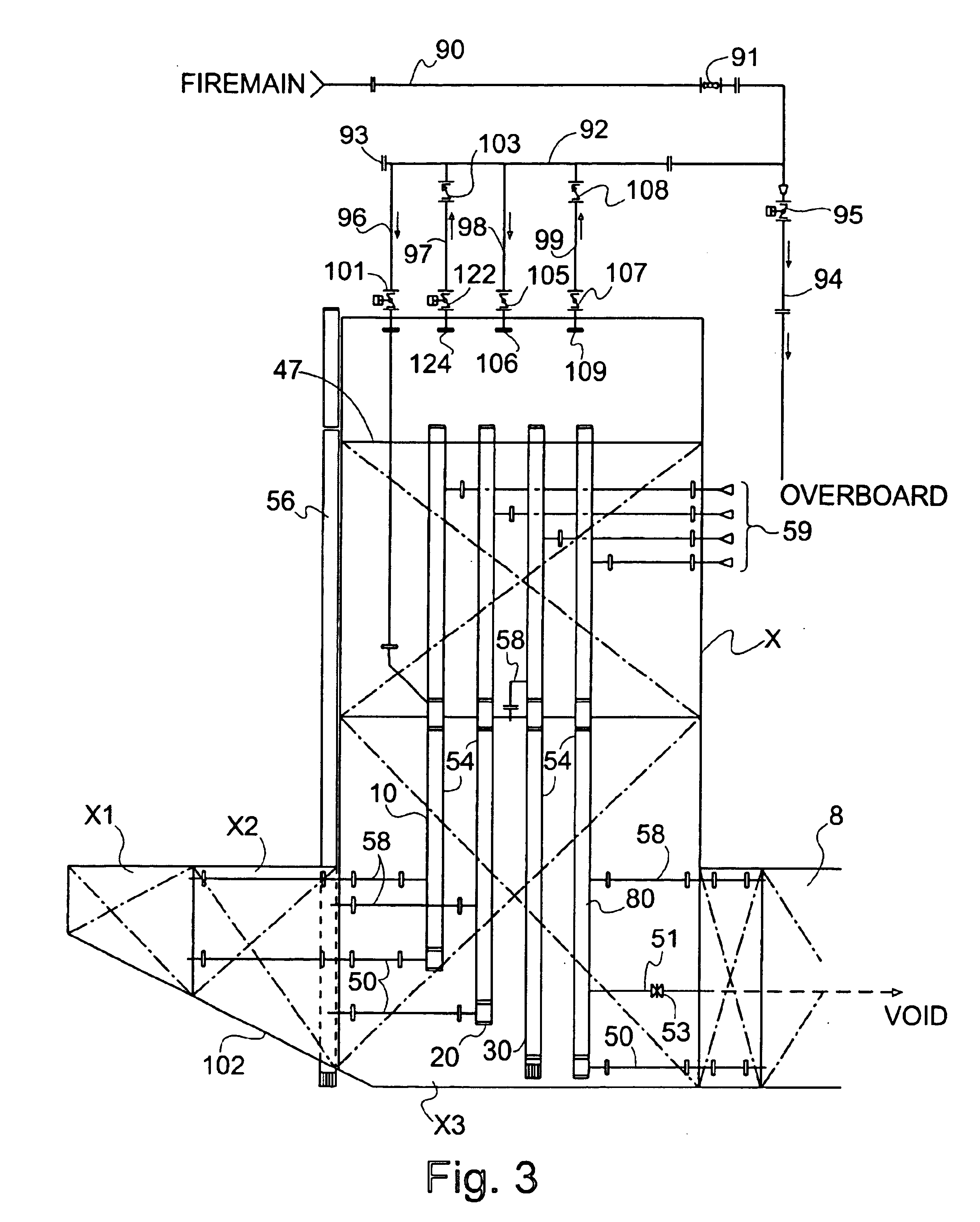 patent us6830413 - ballast system for tension leg platform