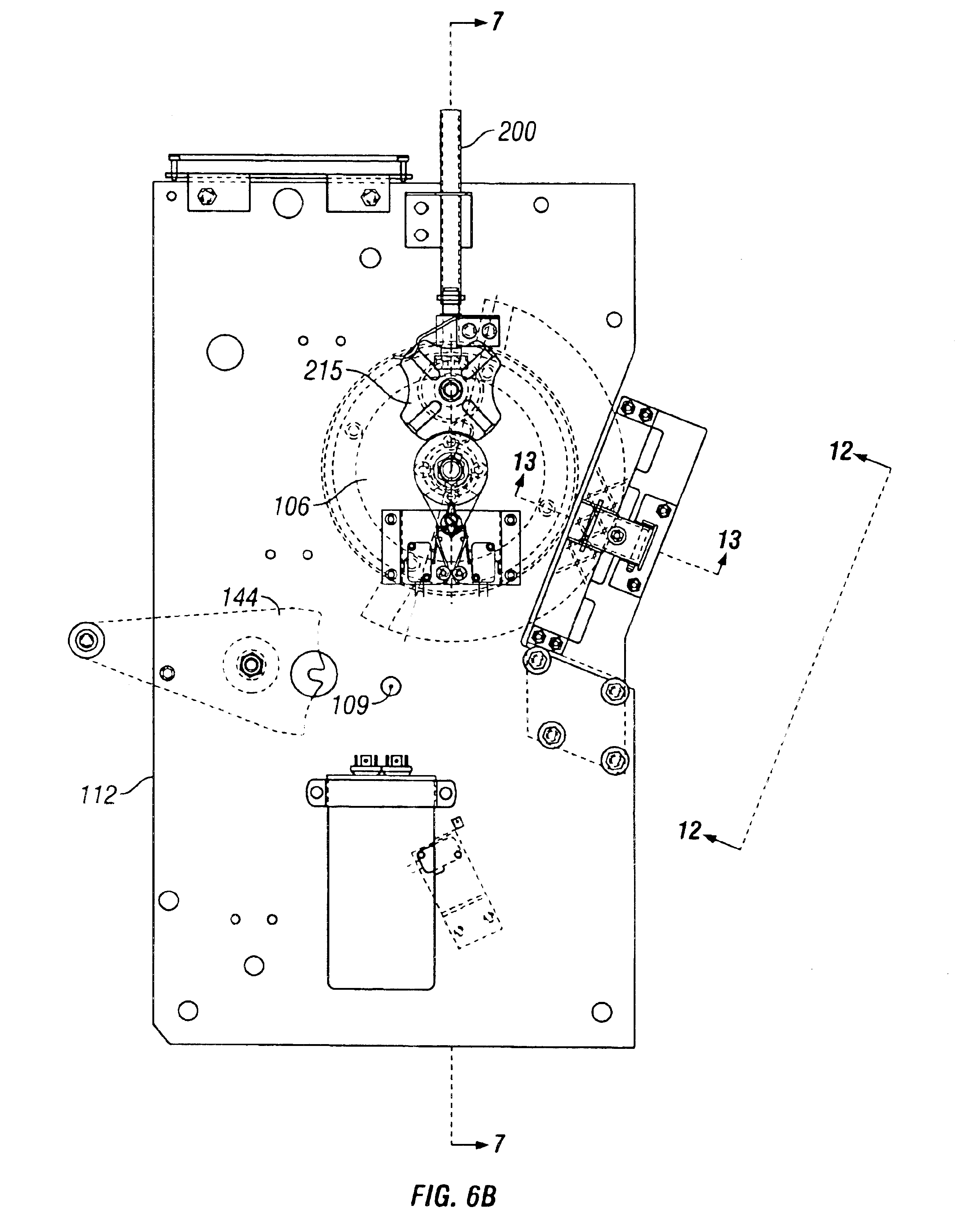 patent us6833518 load tap changer with direct drive and brake