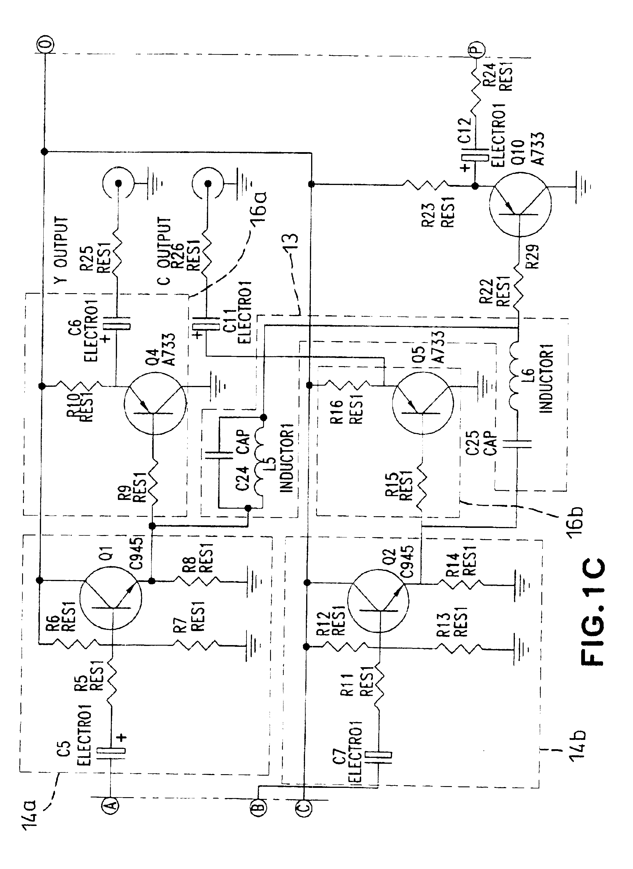 Free Wiring Diagram Rf To Av Circuit Simple Fm Demodulator Electronic Diagrams Patent Drawing