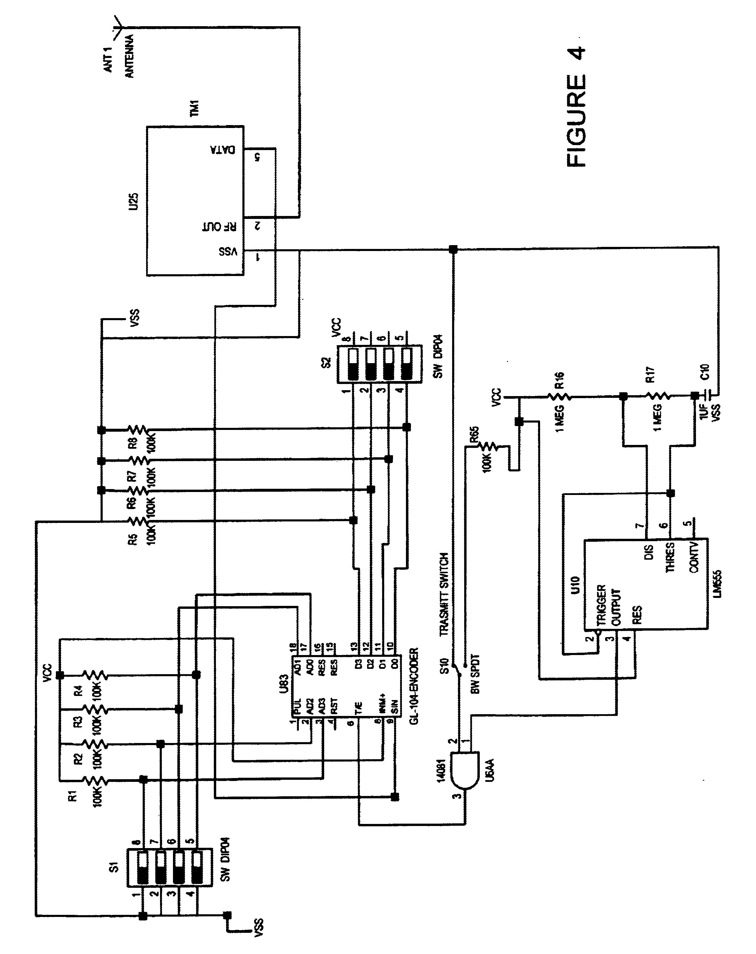 patent us6836221 railroad advance warning system patents Scott Diagram patent drawing
