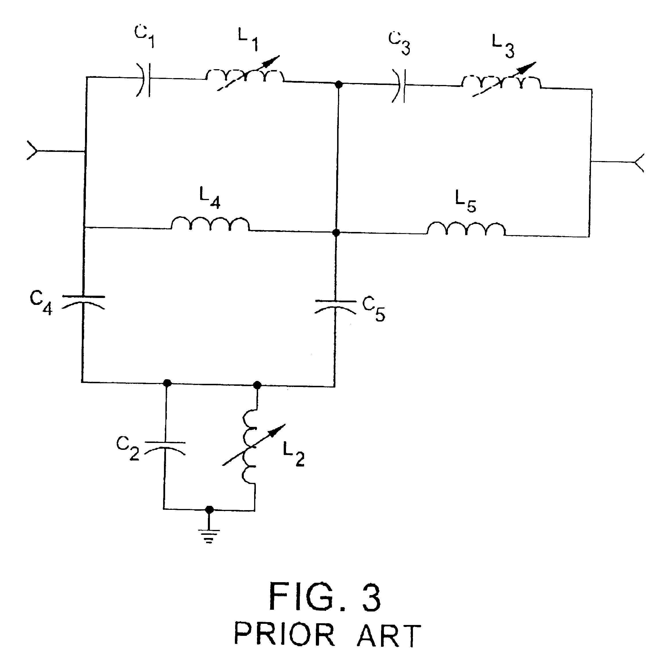 patent us6842086 - two-pole notch filter