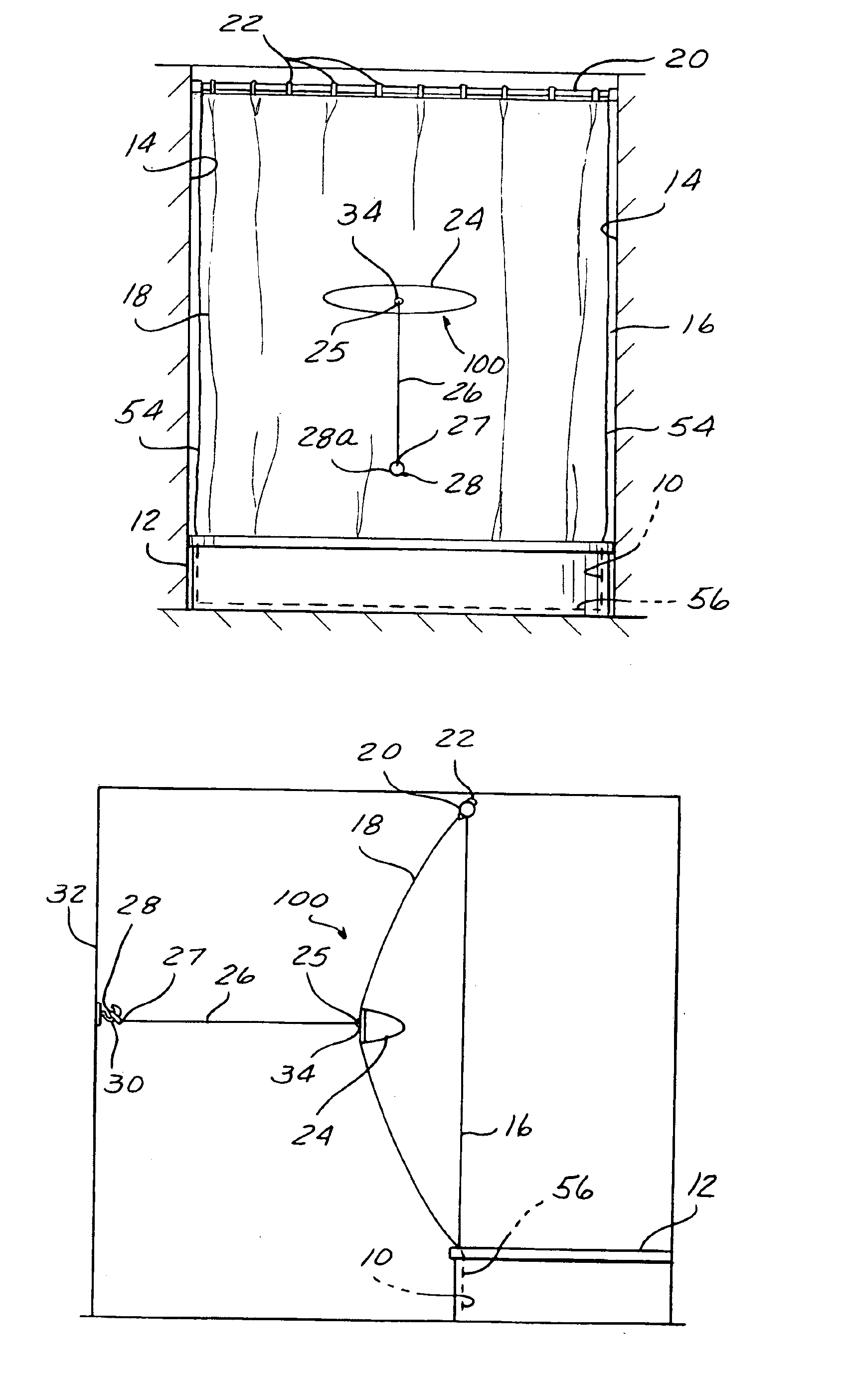 Patent US6845525 - Shower expander - Google Patents