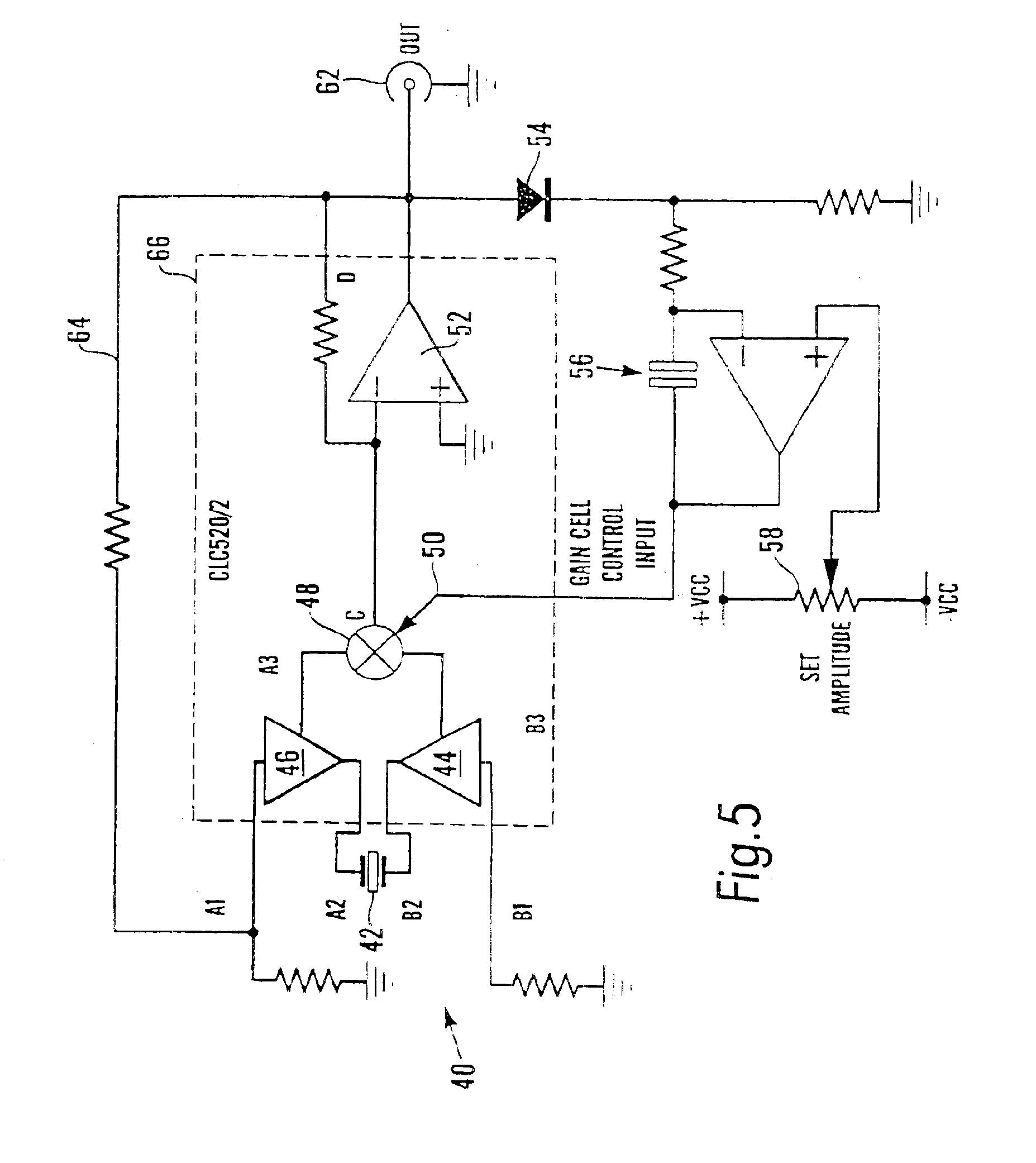 Patent Us6848299 Quartz Crystal Microbalance With Feedback Loop Hartley Oscillator Basic Circuit Diagram Drawing