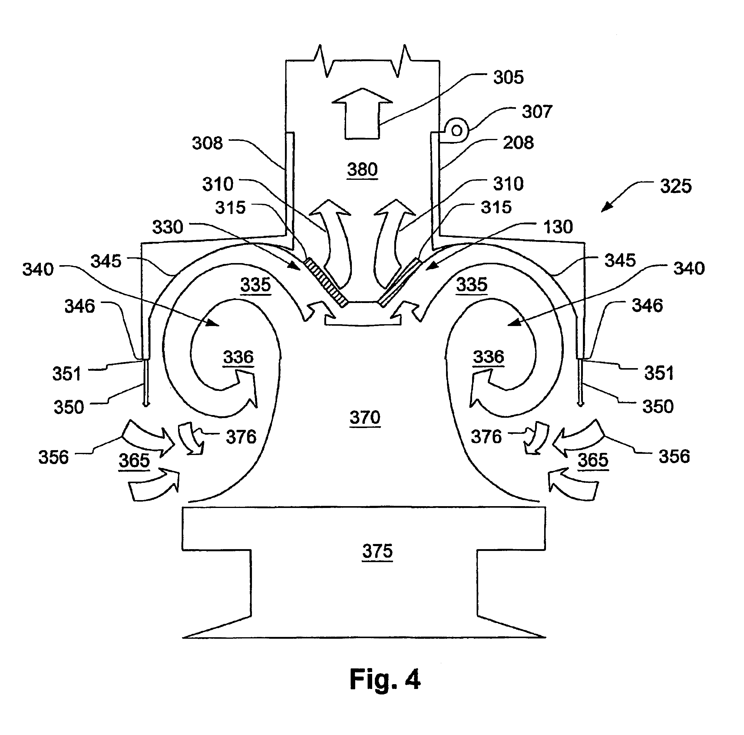 patent us exhaust hood air curtain patents patent drawing