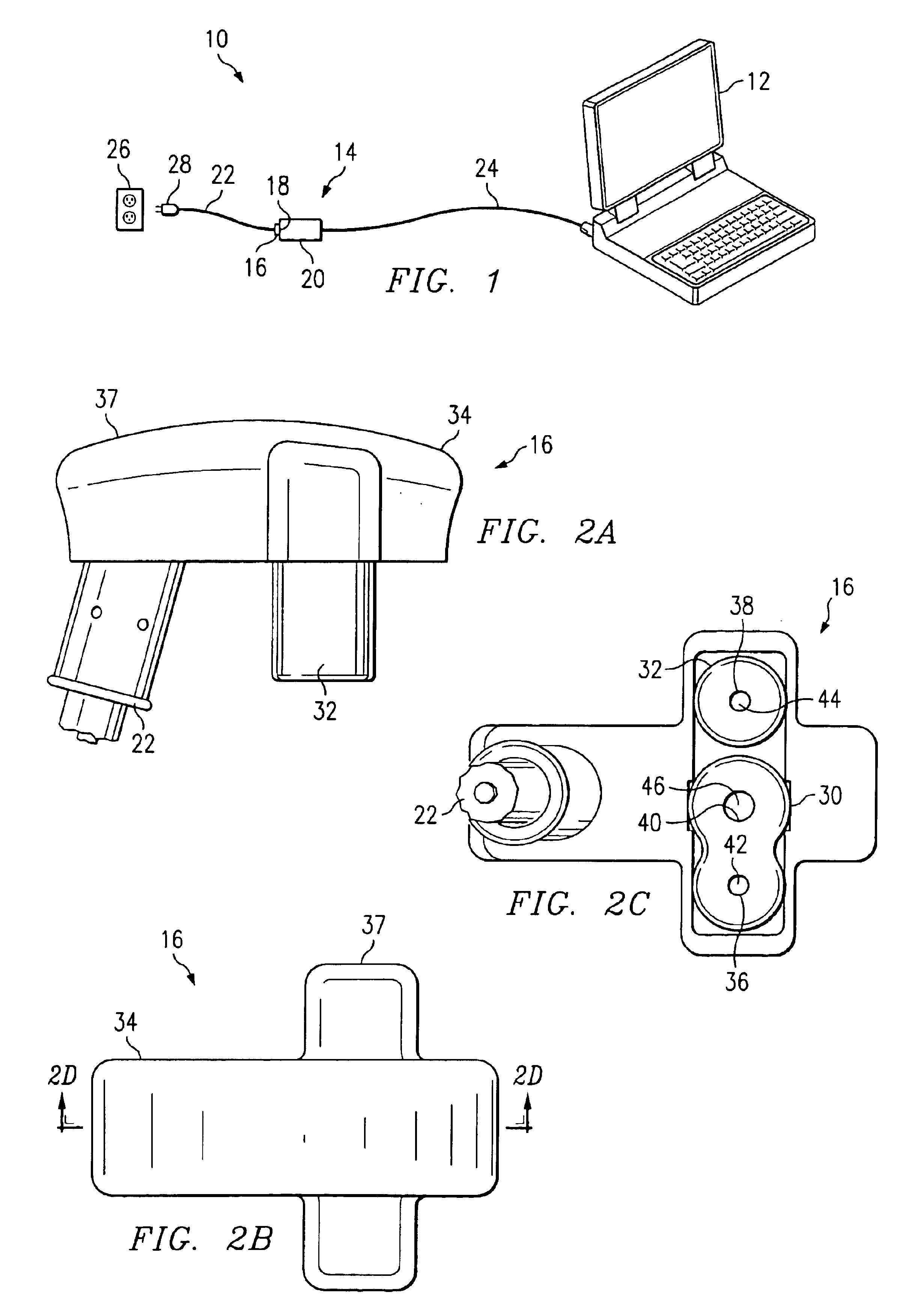 patent us6851960 - ac adapter connector assembly