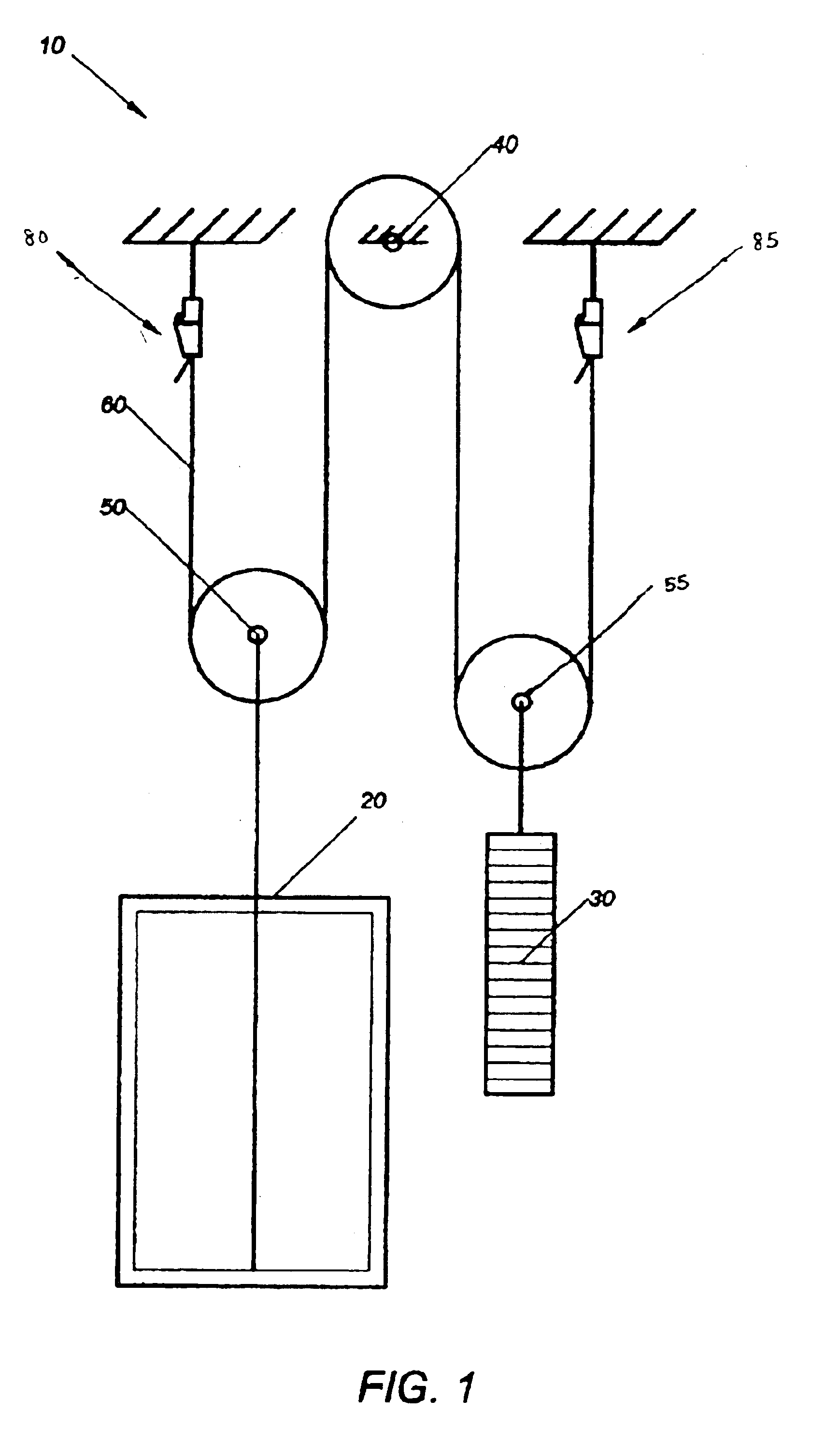 patent us6854164 termination device for an aramid based elevator patent drawing