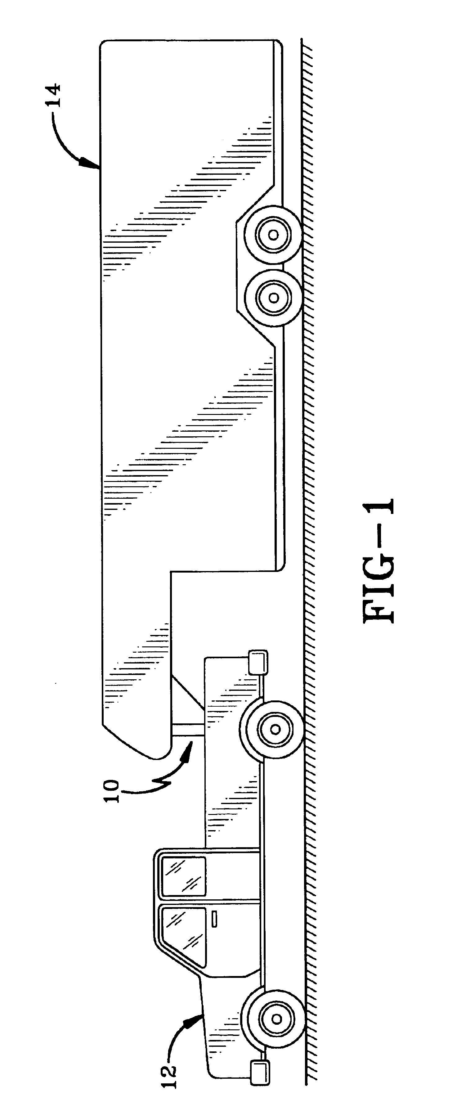 patent us6854757 - shock absorbing trailer hitch