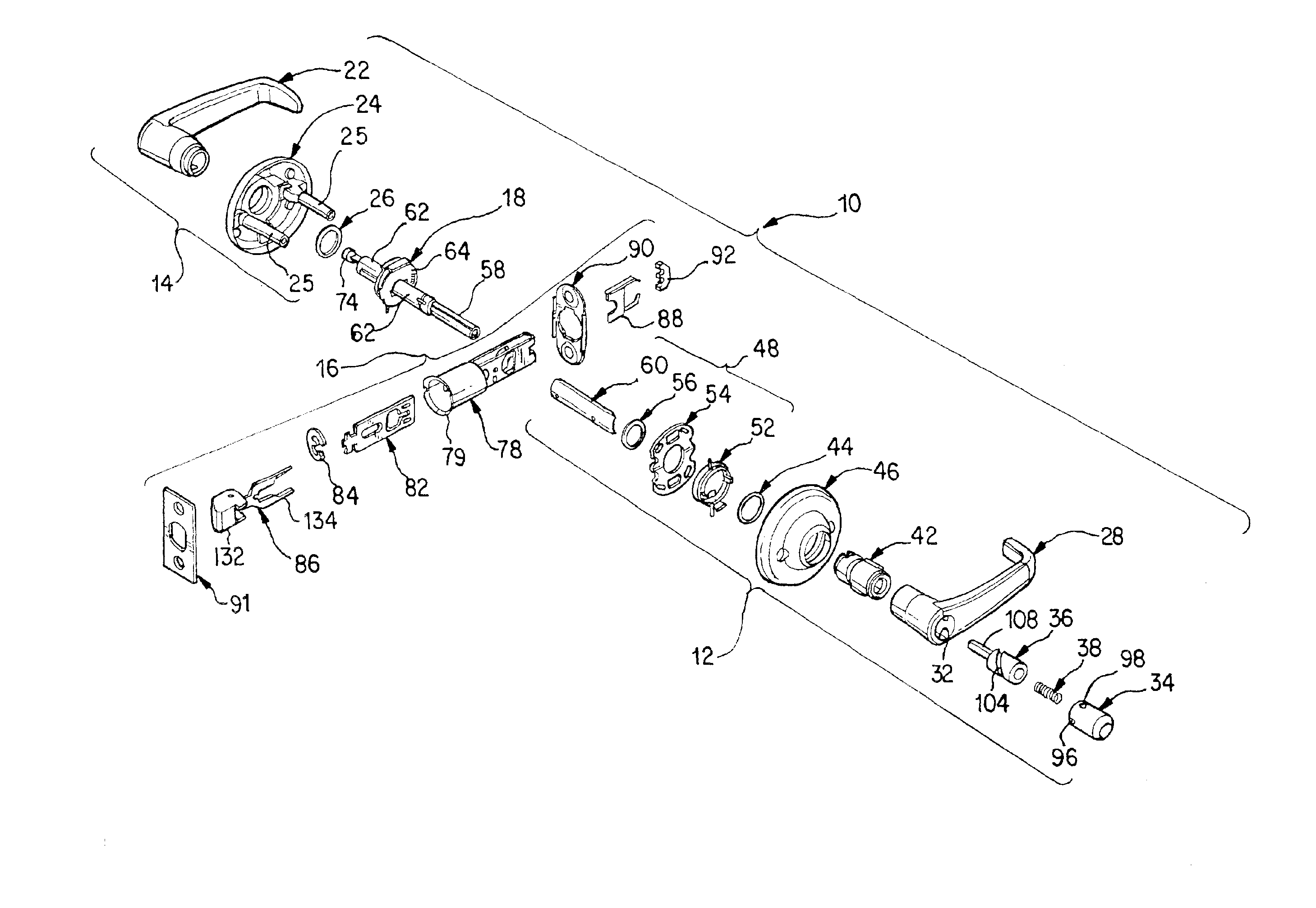 Patent Us6860529 - Push Button With Latch Kick-off