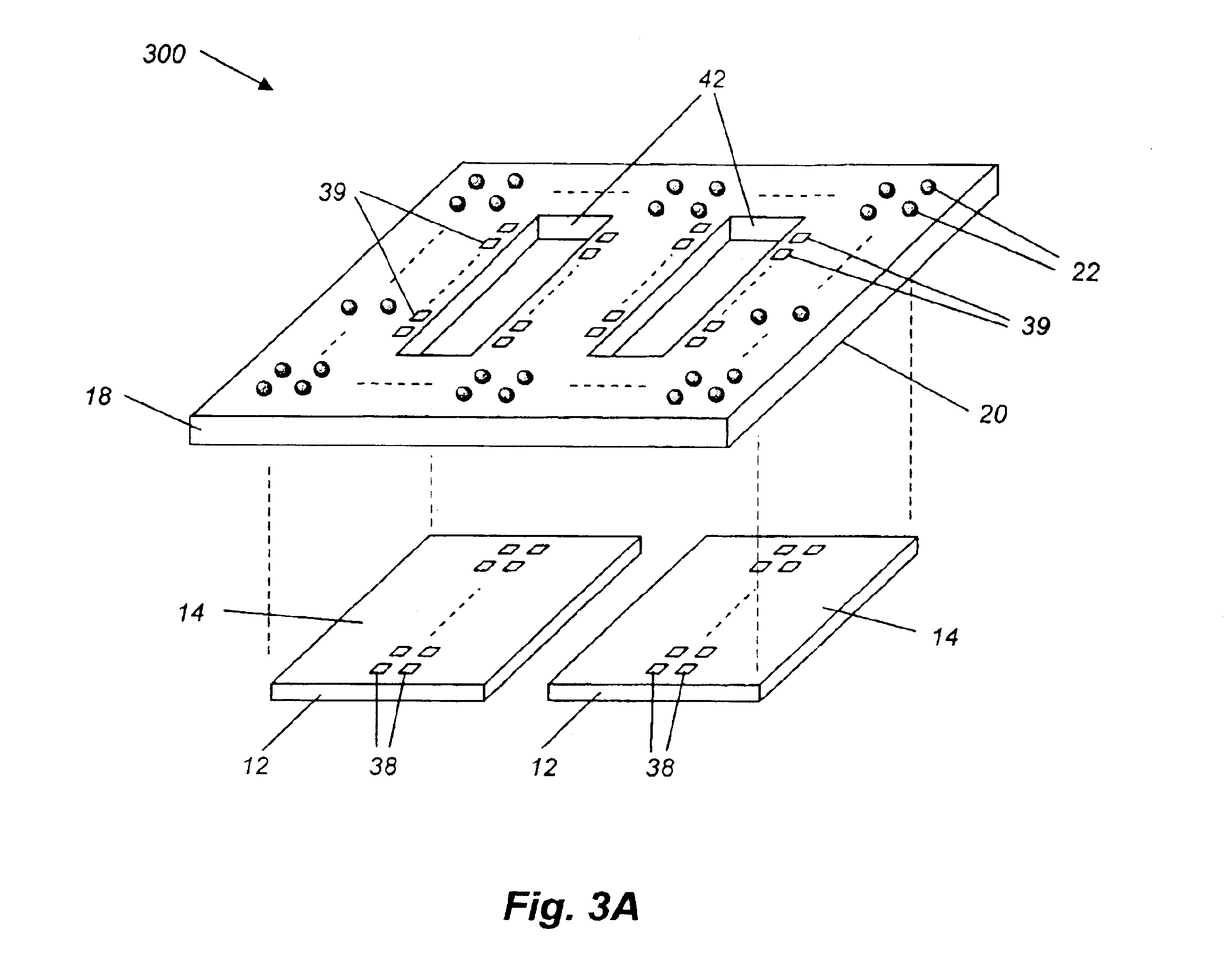 patent us6861290 - flip-chip adaptor package for bare die