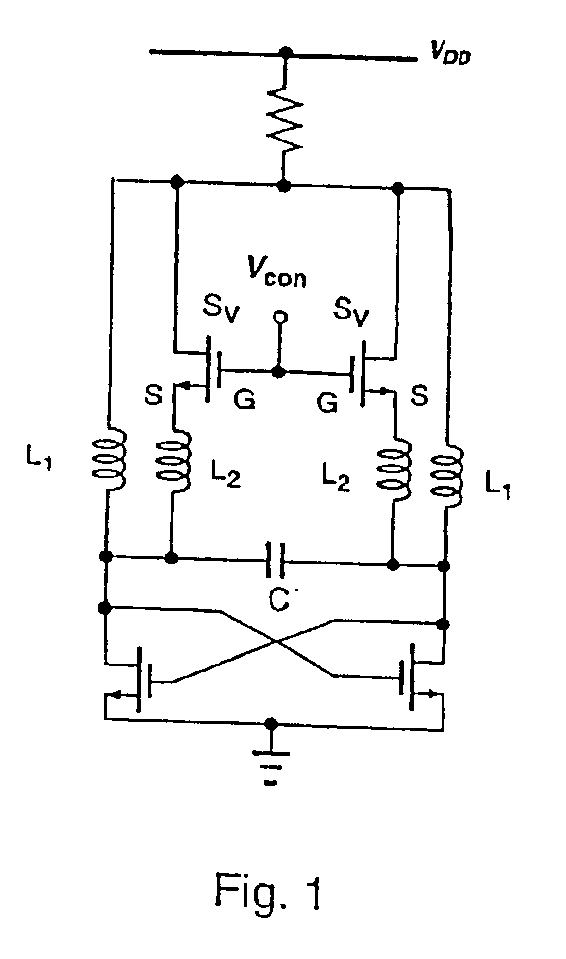 patent us6861913 - voltage-controlled oscillator with lc resonant circuit