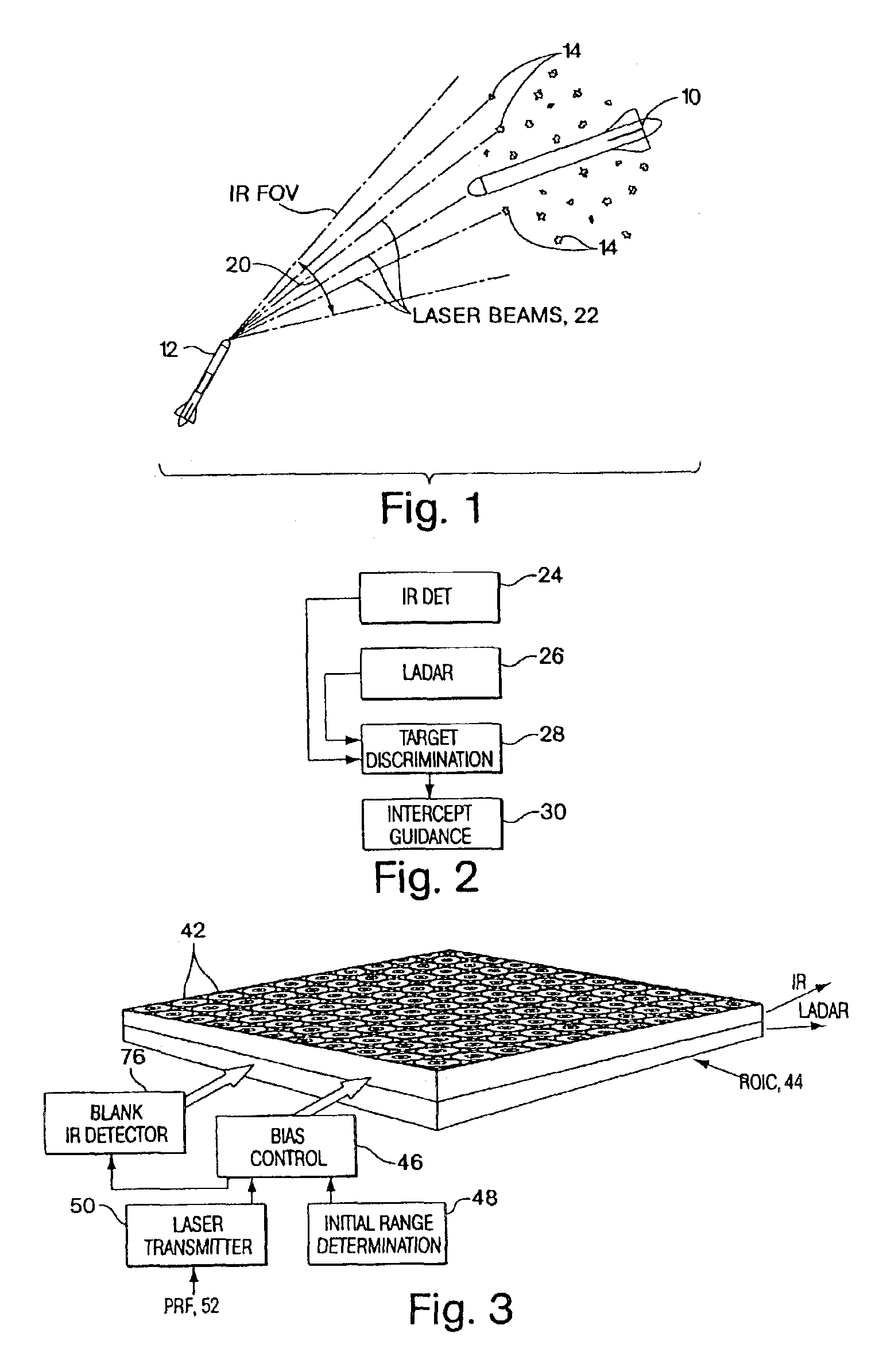 patent us6864965 - dual-mode focal plane array for missile seekers