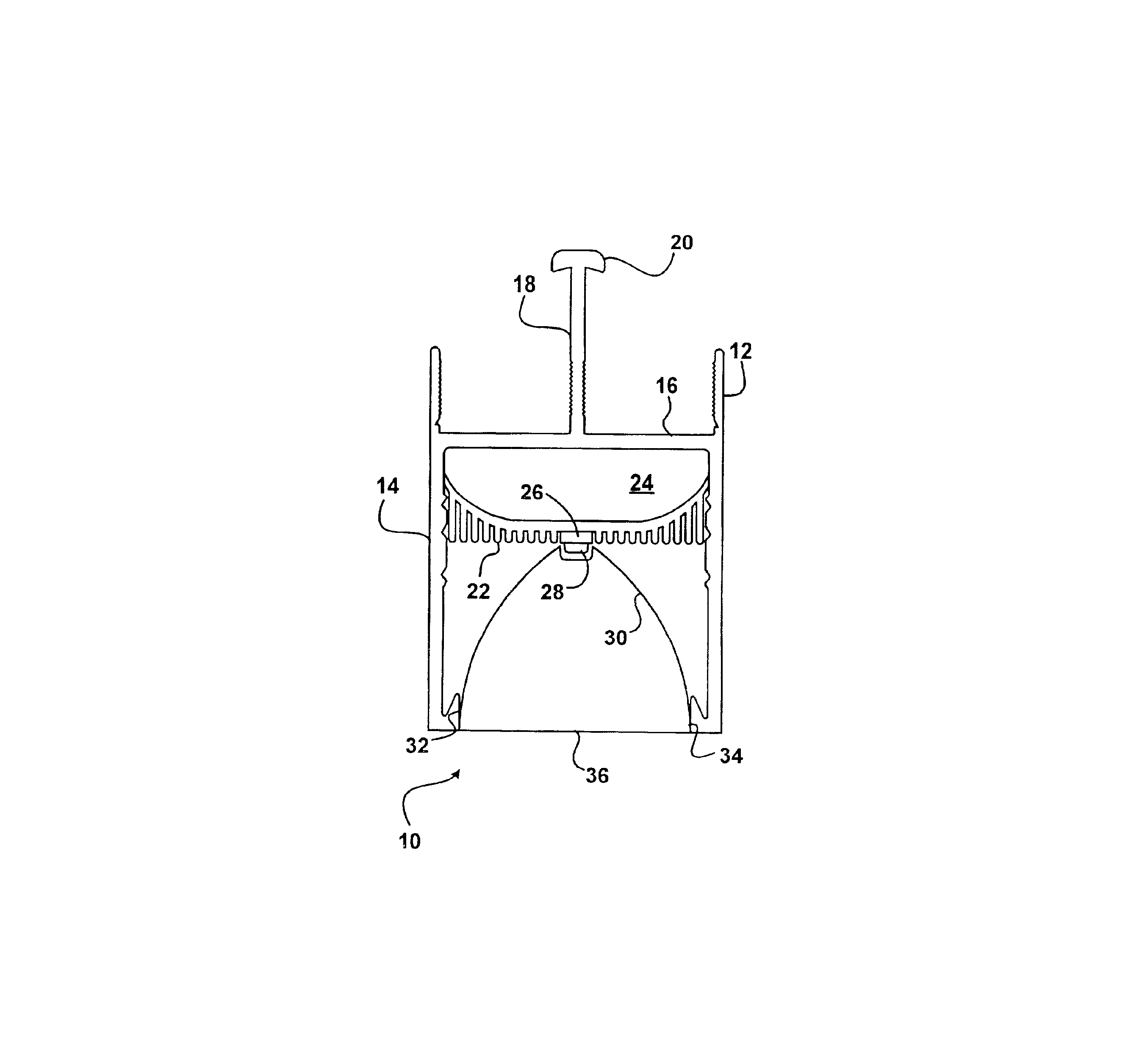 patent us6871983 - solid state continuous sealed clean room light fixture