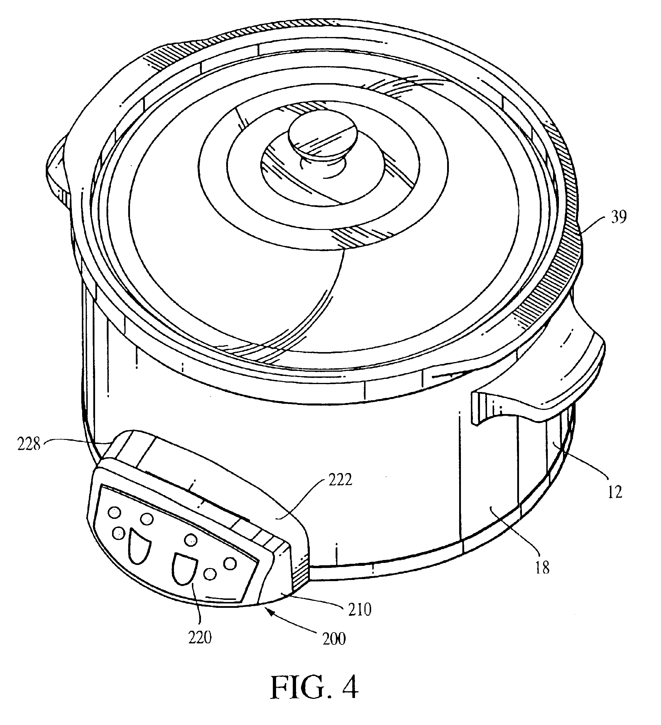 US06872921 20050329 D00003 patent us6872921 programmable slow cooker appliance google patents crock pot wiring diagram at readyjetset.co