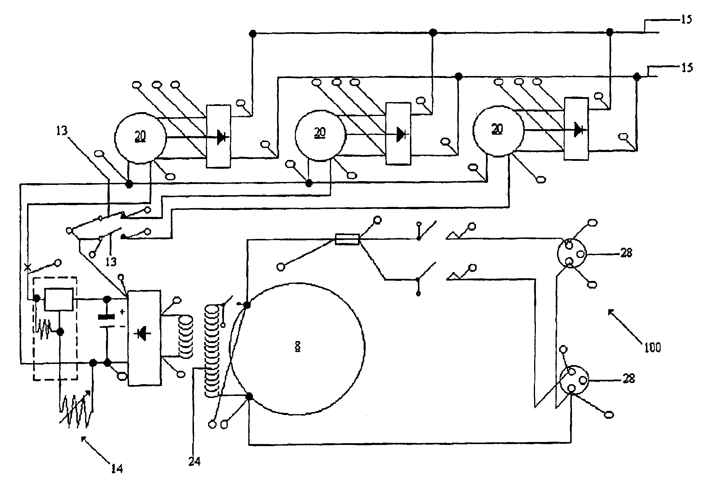 wiring diagram generator leroy somer wiring schematics and diagrams patent us6876096 electrical power generation unit google patents
