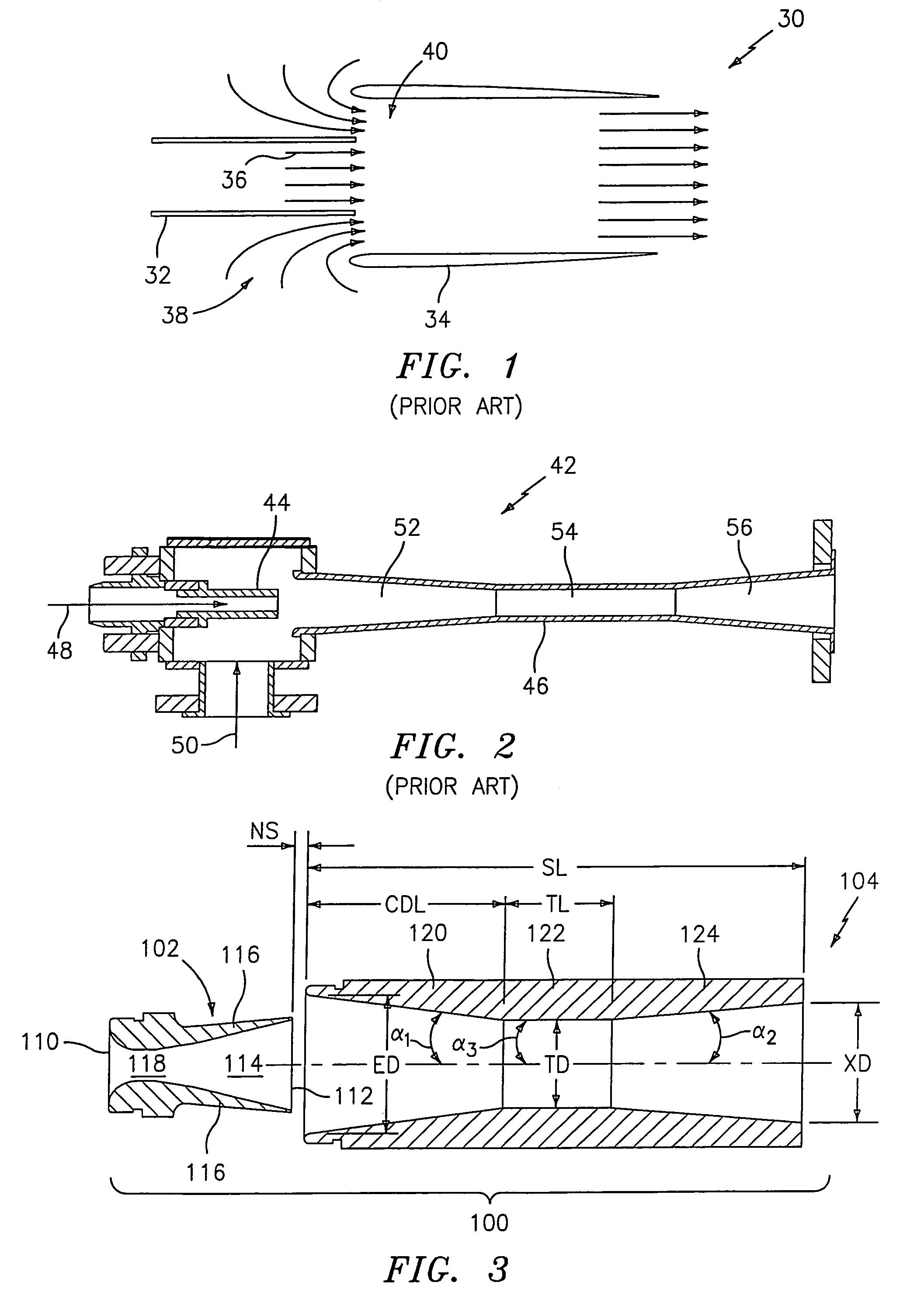 convergent divergent nozzle design pdf