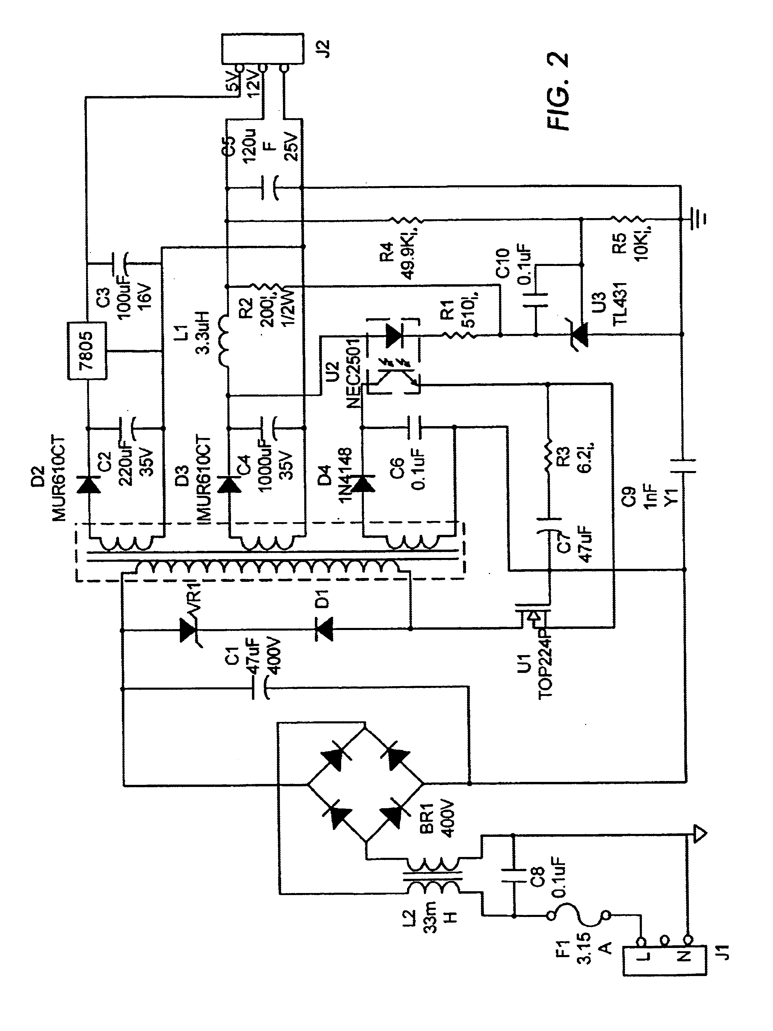 Wiring diagram ac co electrical drawing wiring diagram patent us6879497 multiple output power adapter google patents rh google co in wiring diagram ac compressor wiring diagram of a consumer unit cheapraybanclubmaster Images