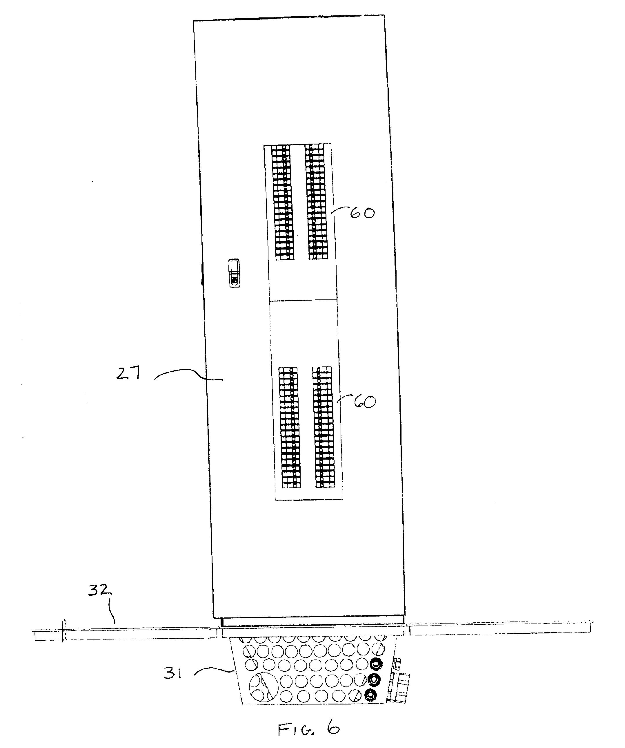 patent us6881898 remote distribution cabinet google patentler. Black Bedroom Furniture Sets. Home Design Ideas
