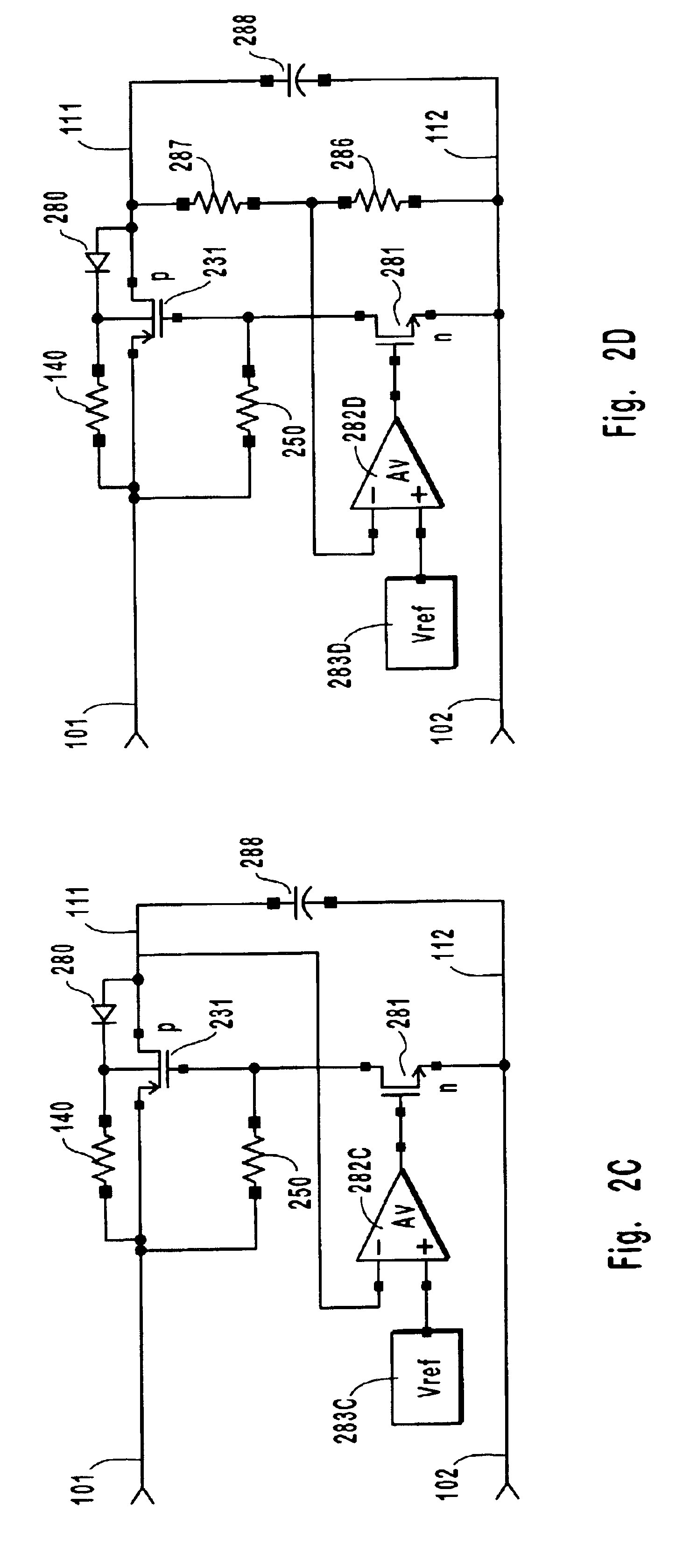 Patent Us6882513 Integrated Overvoltage And Reverse Voltage Bias Oscillator Circuit Drawing