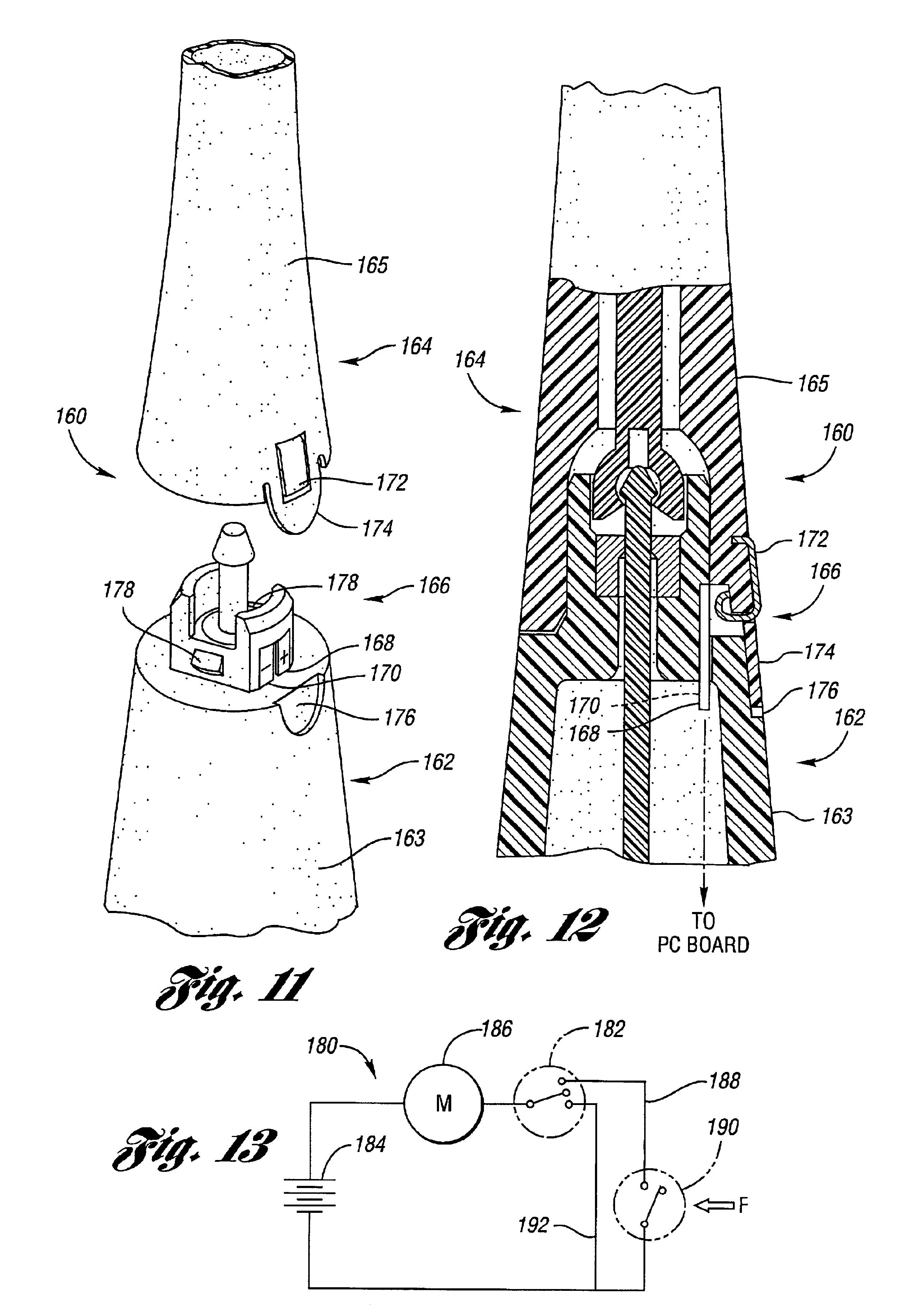 patent us6895625 automatic electric toothbrush google patents