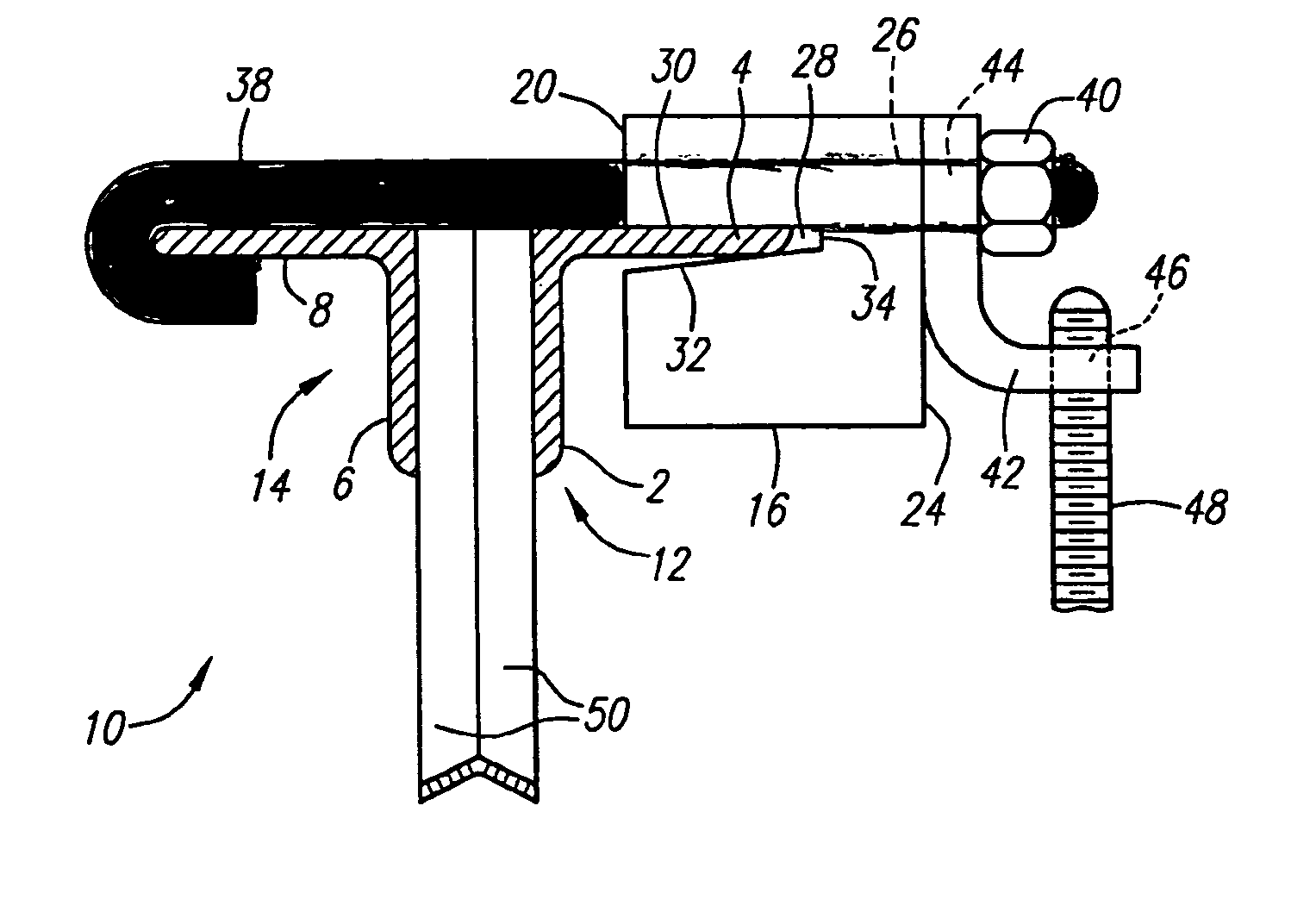 Patent us offset beam clamp google patents