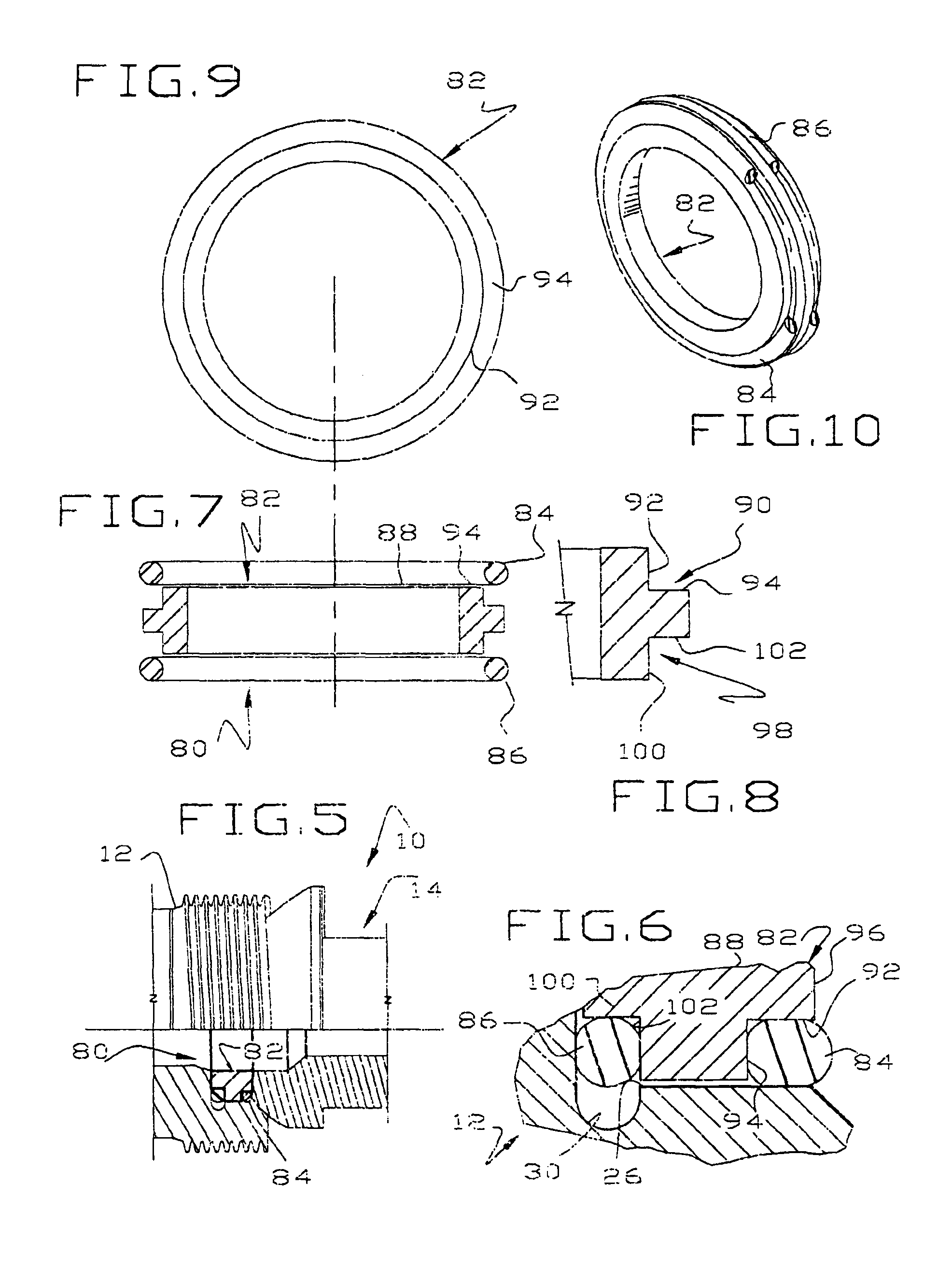 Patent us hammer union and seal therefor google