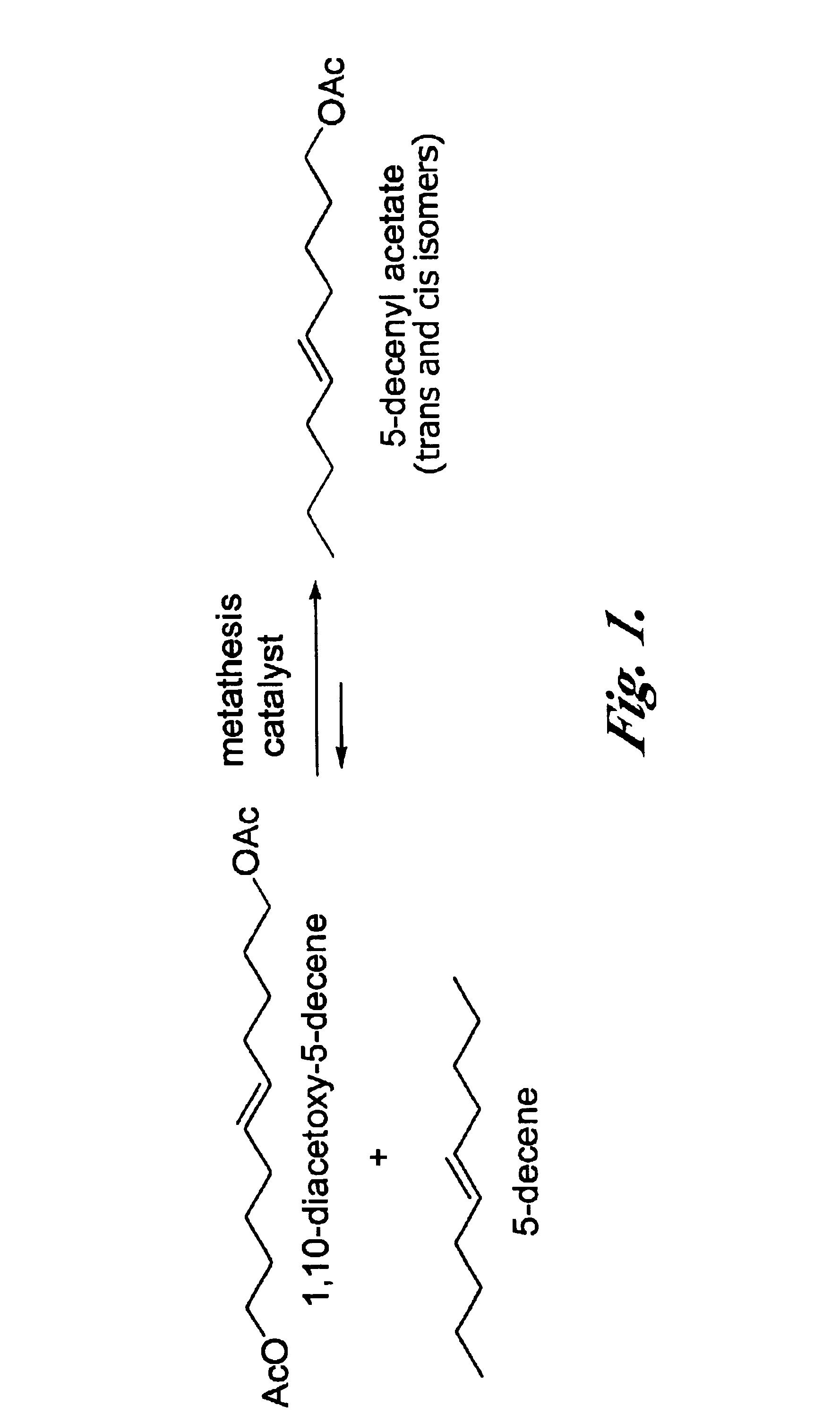 olefins metathesis Metathesis catalysts, metathesis reaction reagents.