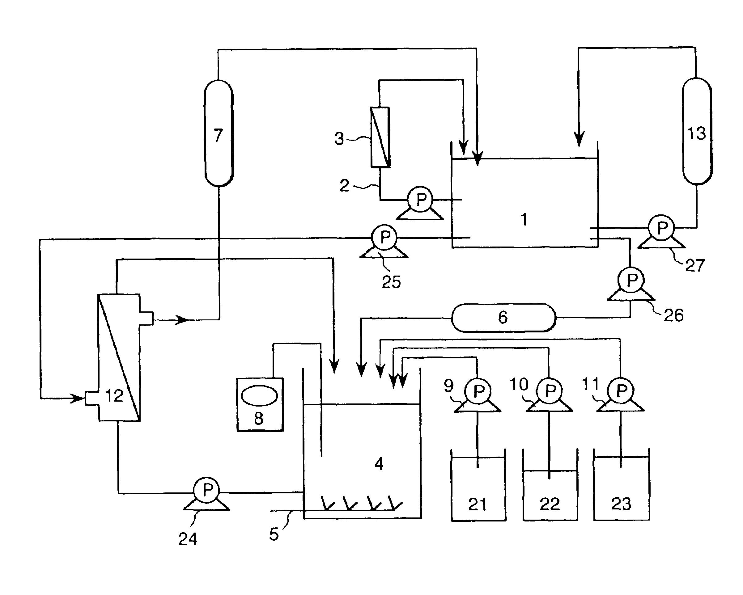 Patent Us6900394 Electroless Copper Plating Machine And Multi Wiring Board Drawing