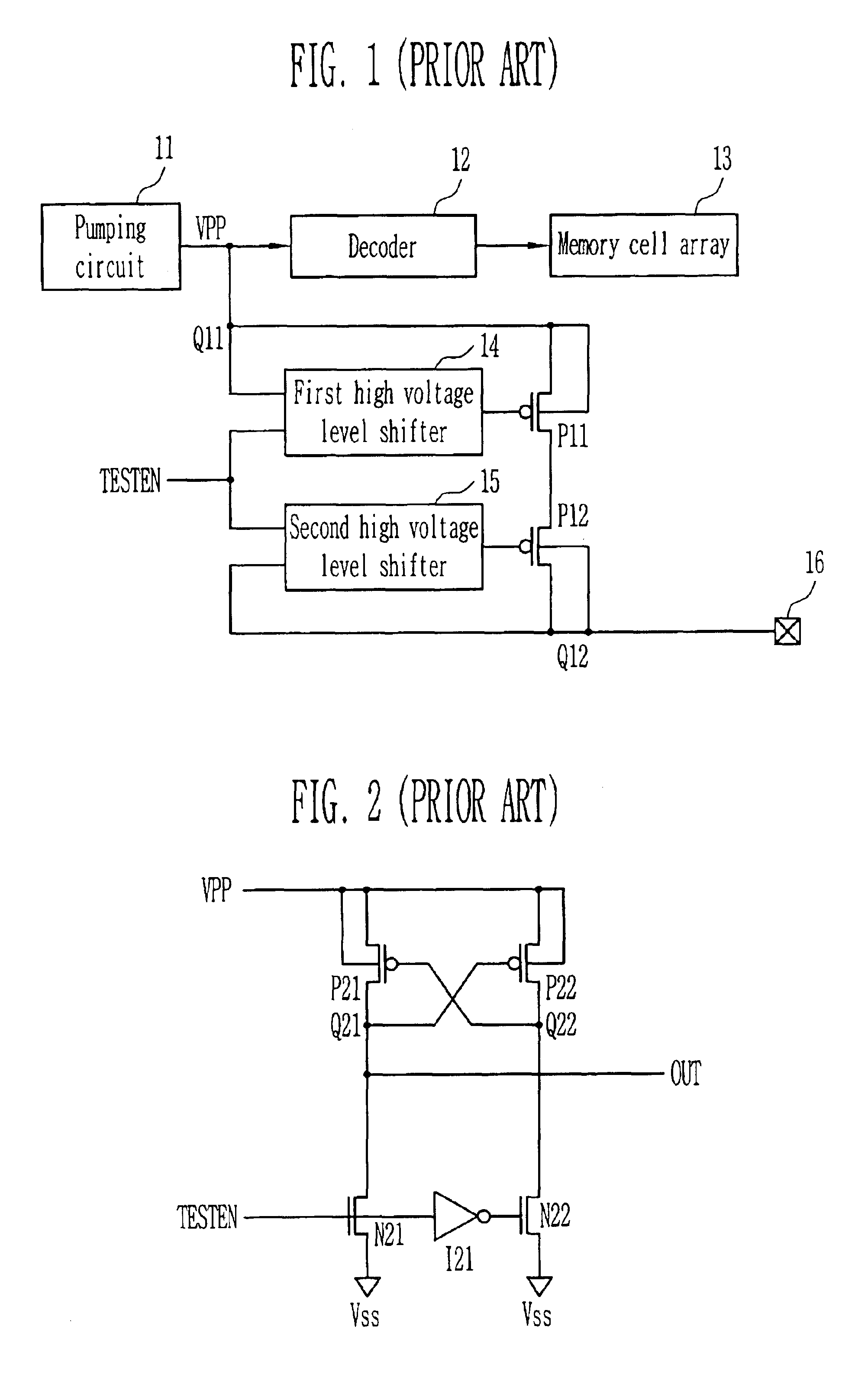 Patent Us6903595 High Voltage Transfer Circuit Google Patents Figure 1 Diagram For Level Shifter Drawing