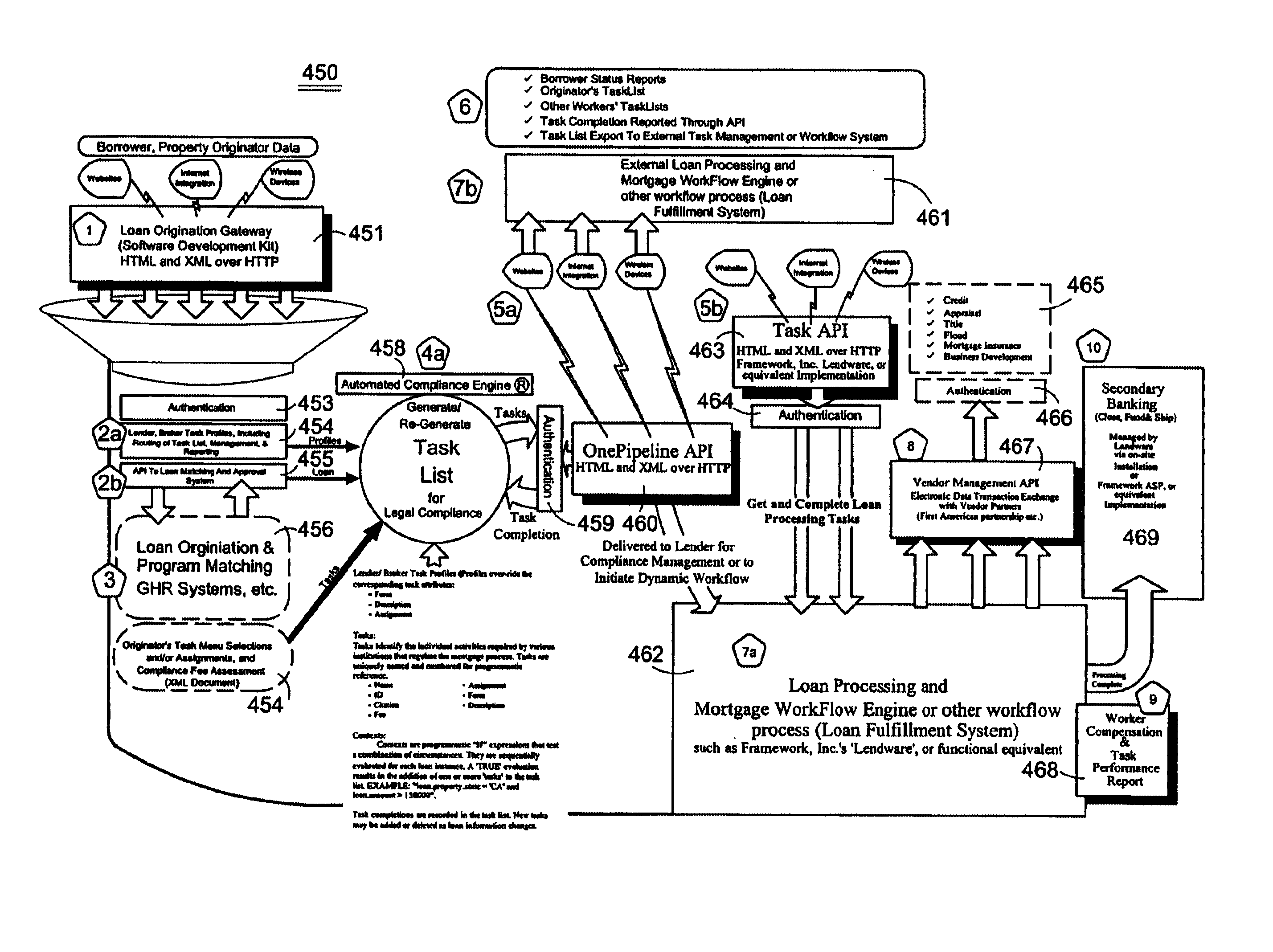 Patent us6904412 method and apparatus for a mortgage loan patent drawing xflitez Images