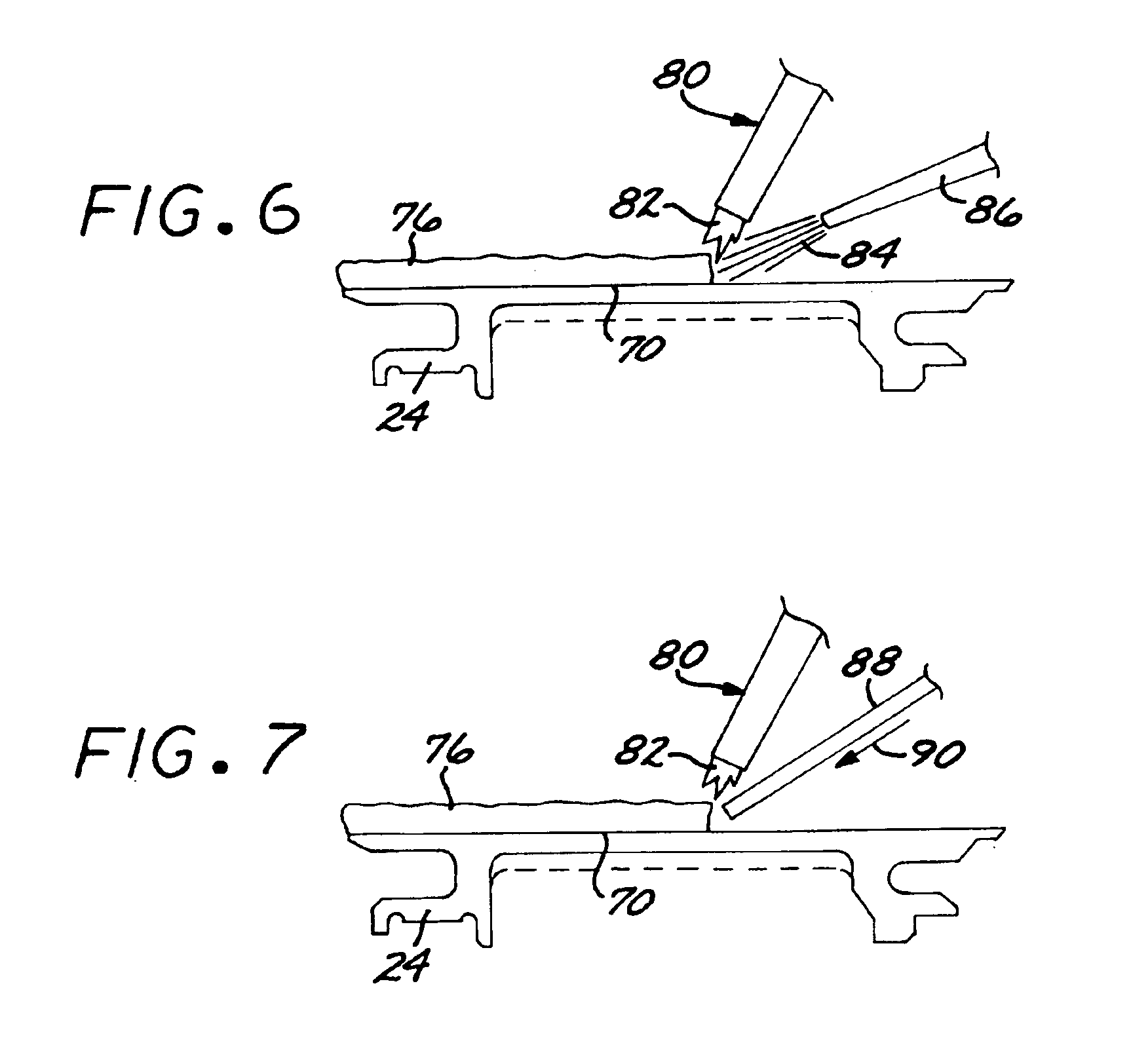Patent US Method of repairing a stationary shroud of a