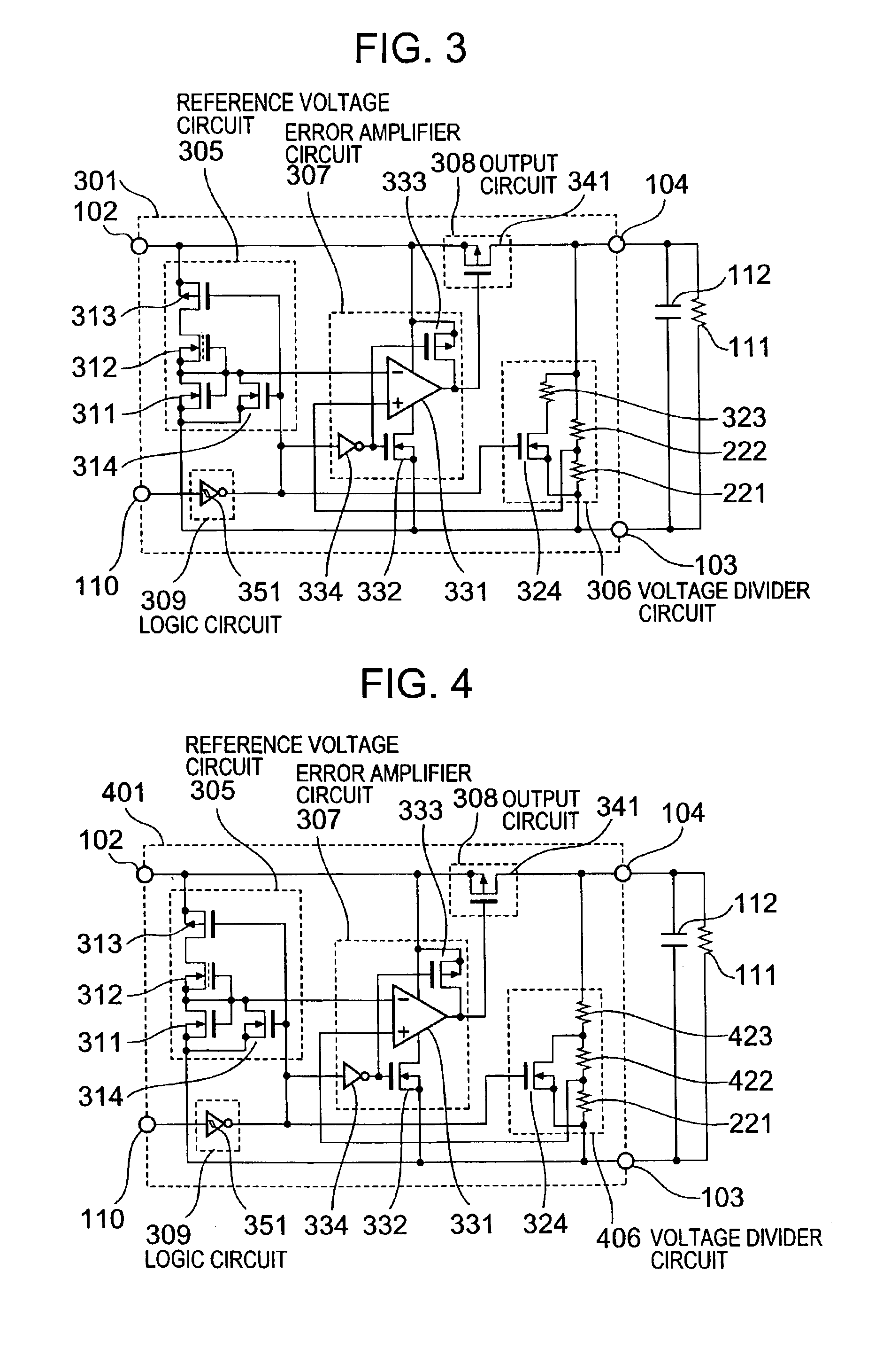 Patent Us6919757 Voltage Regulator With Turn Off Assist Google Divider Circuit Drawing