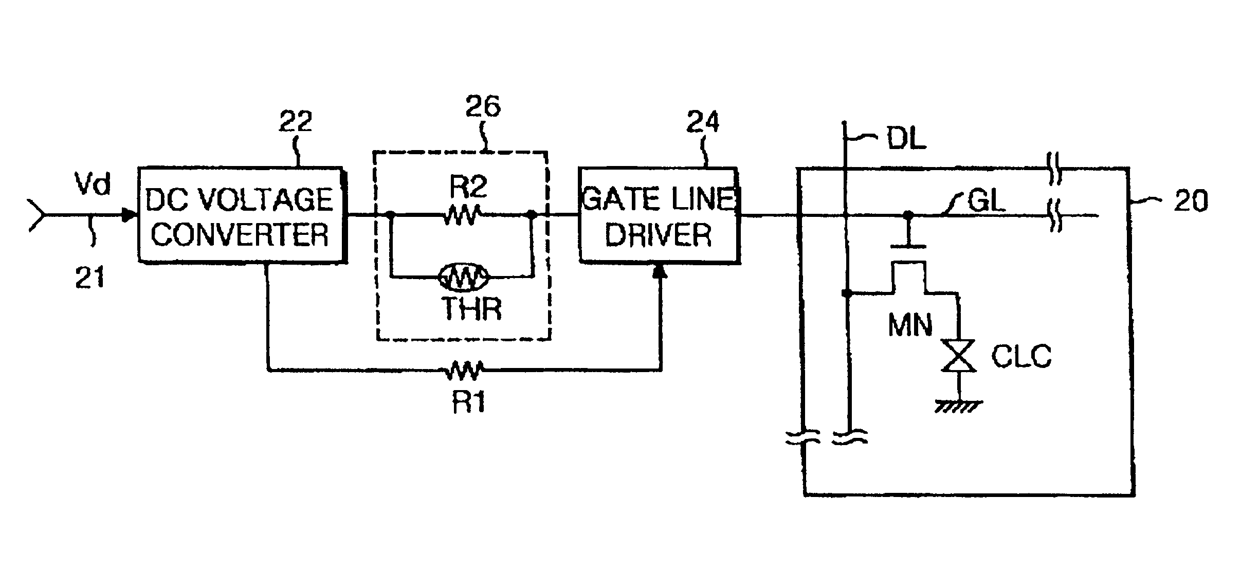 Patent Us6919883 Charge Characteristic Compensating Circuit For Voltage Display Drawing