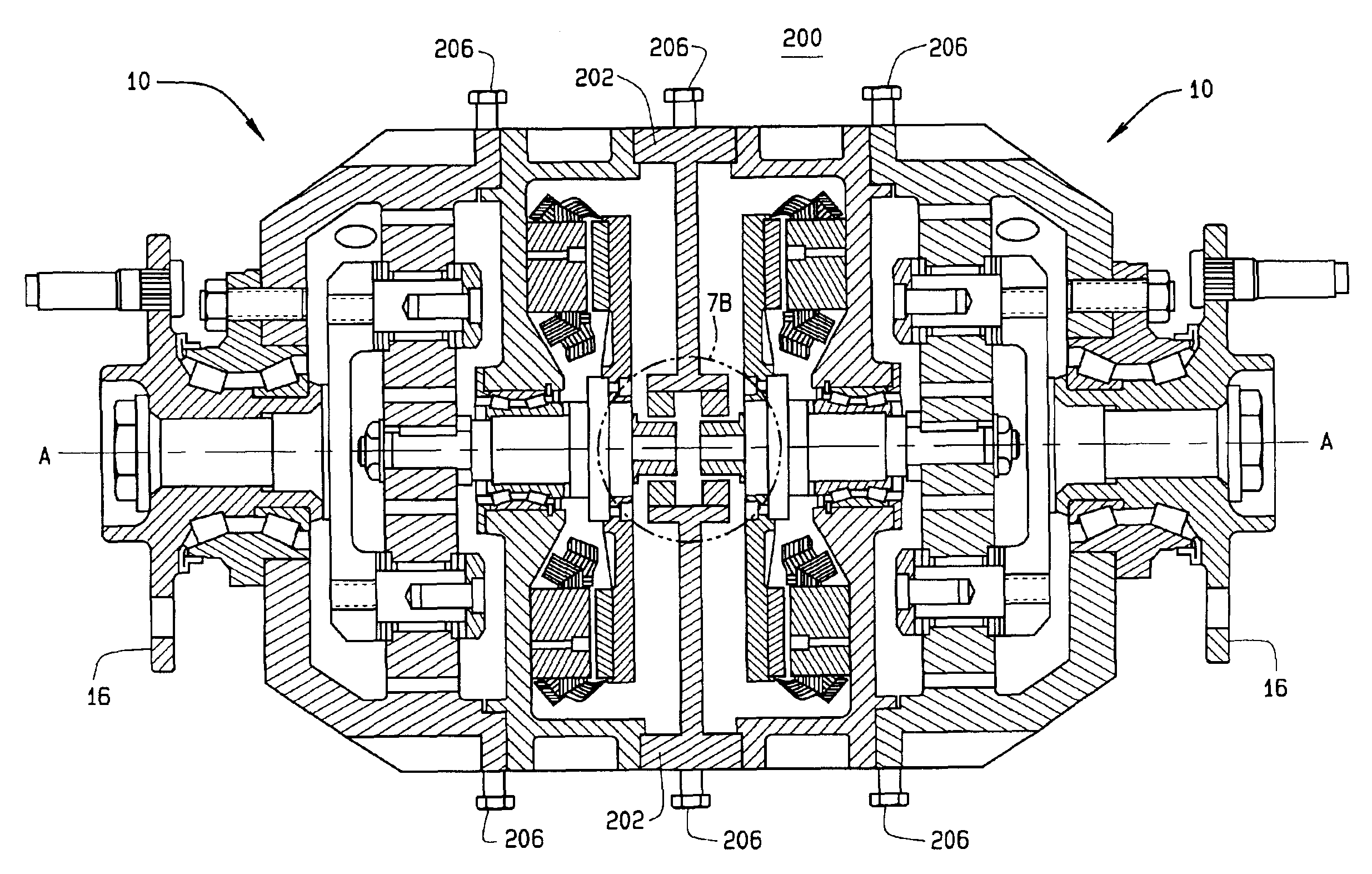 Patent Us6922004 Axial Flux Motor Assembly Google Patenten