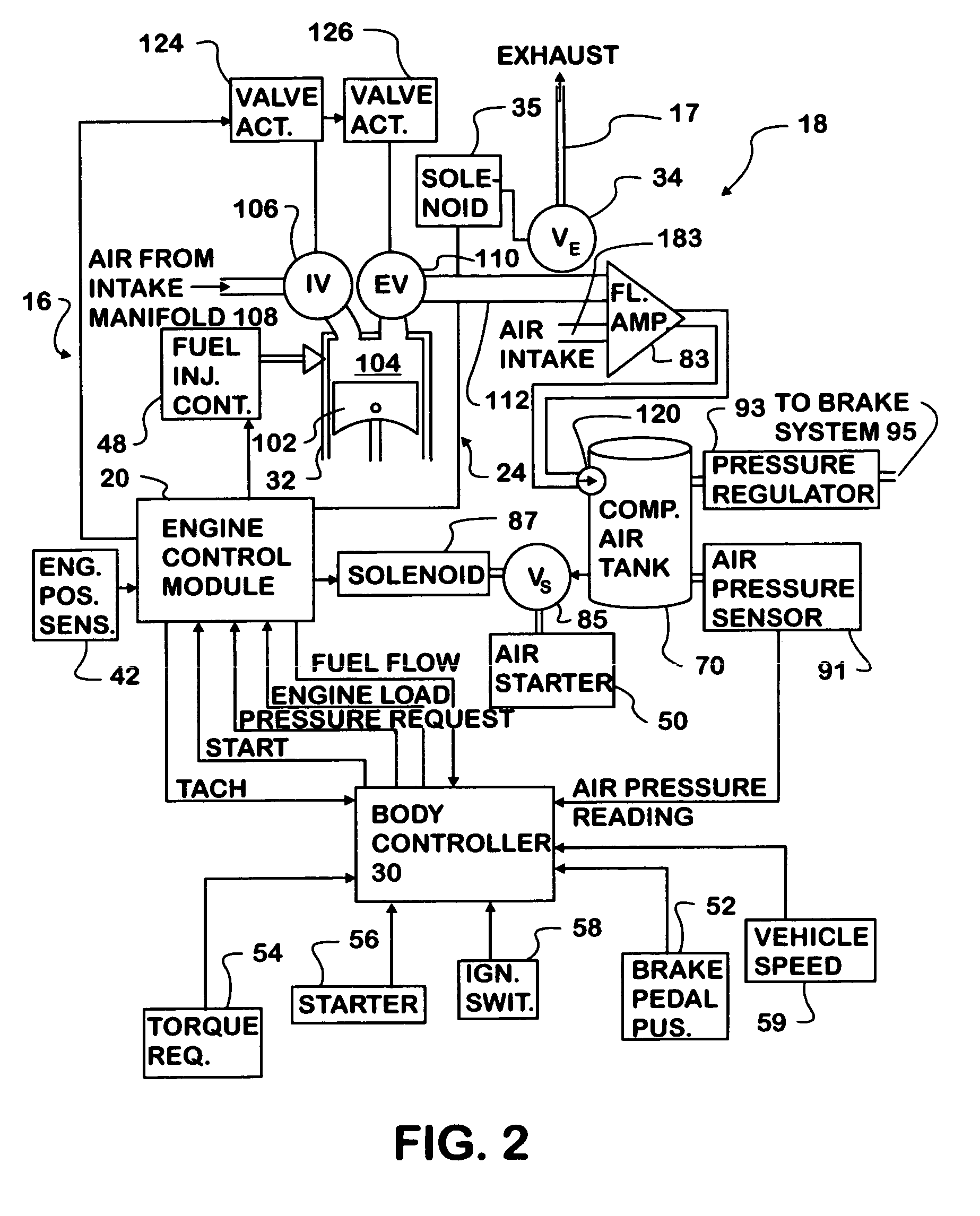 Patent Us6922997 - Engine Based Kinetic Energy Recovery System For Vehicles